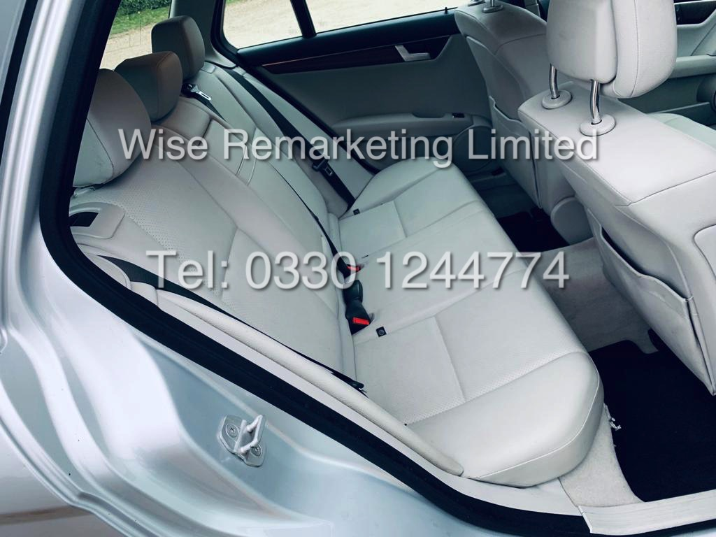 MERCEDES C220 SE EXECUTIVE ESTATE 2.1 CDI 13 REG *CREAM LEATHER* - Image 13 of 23