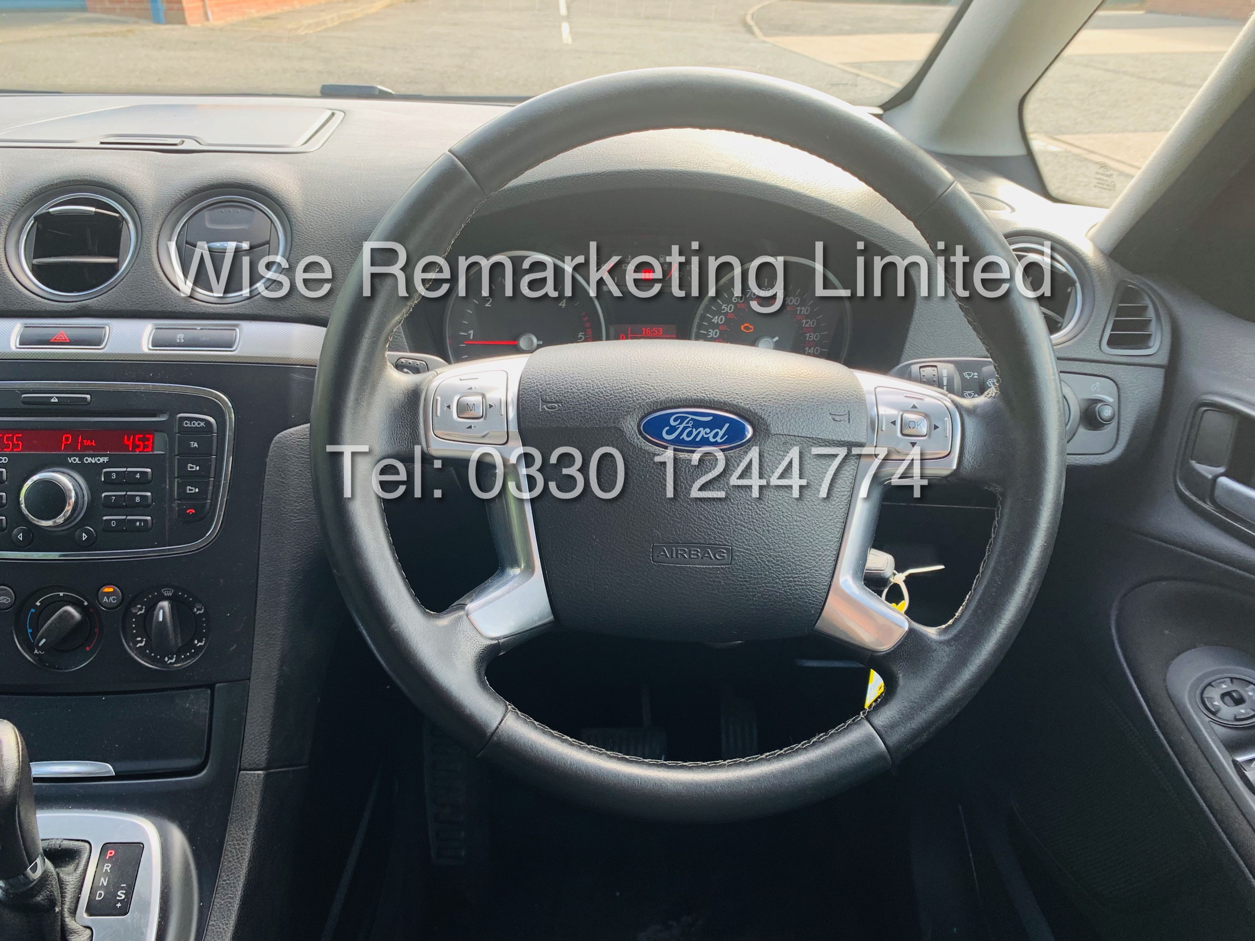 FORD GALAXY ZETEC 2.0L TDCI AUTO 7 SEATER MPV 63 REG *1 OWNER* - Image 19 of 20
