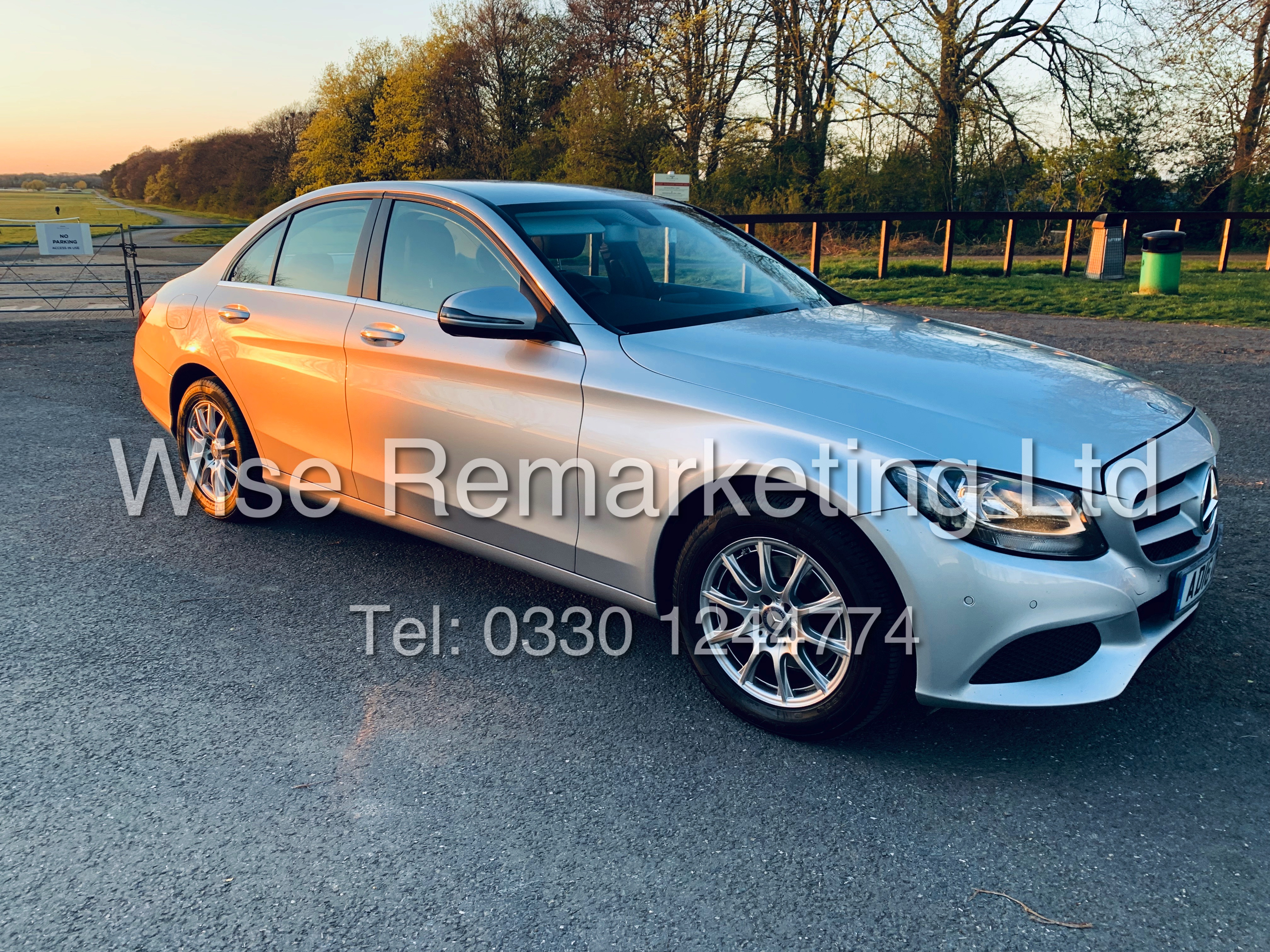 """*** RESERVE MET *** MERCEDES C220D AUTOMATIC """"SE EXECUTIVE"""" SALOON (2016) 1 OWNER / SAT NAV LEATHER - Image 2 of 25"""