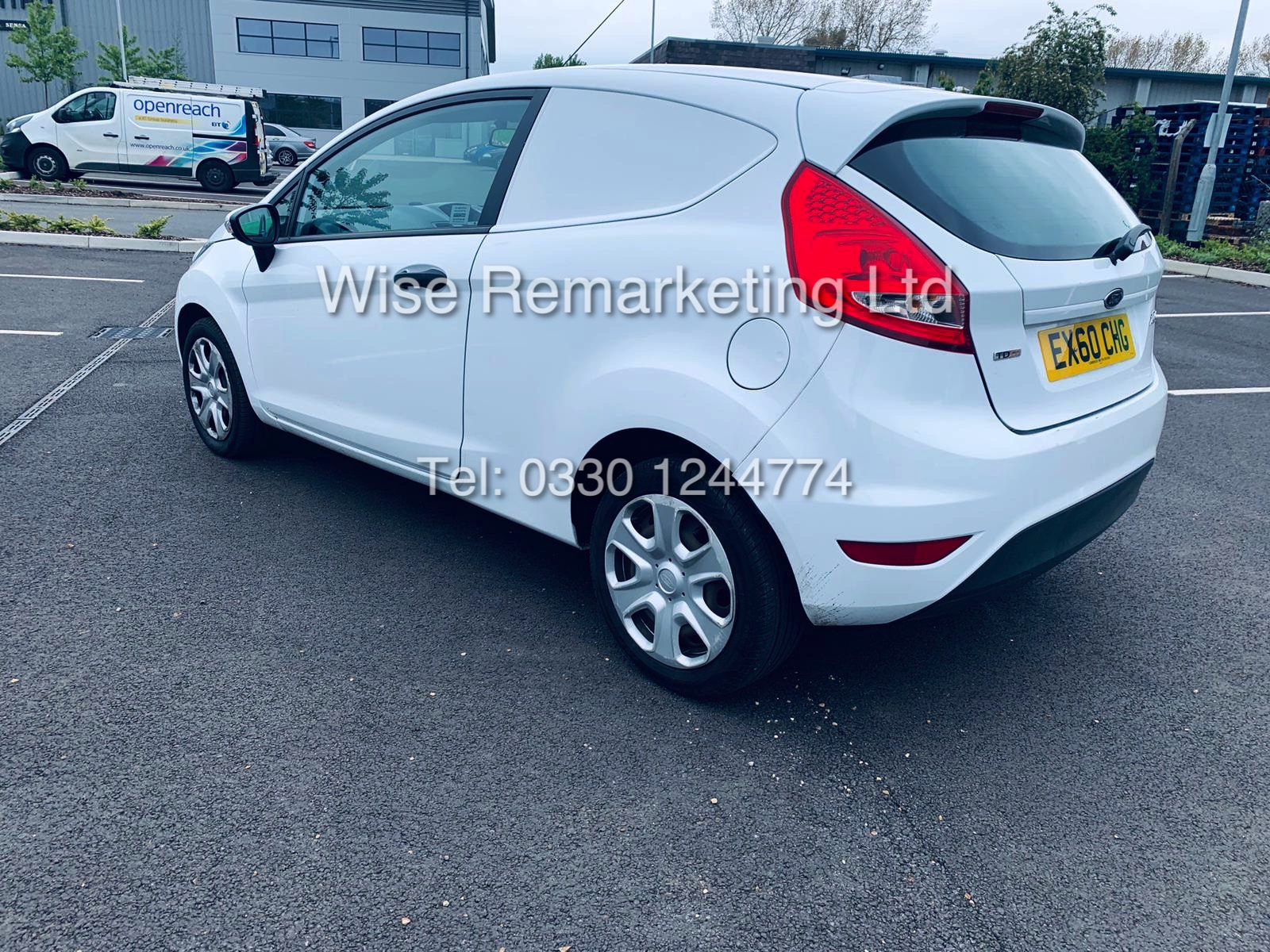 ** RESERVE MET* FORD FIESTA 1.4 TDCI CAR DERIVED VAN *FSH* (2011 SPEC) VERY WELL MAINTAINED - Image 2 of 21