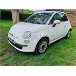 **RESERVE MET** FIAT 500 1.2 LOUNGE DUALOGIC STOP/START (2013 SPEC) ONLY 36K MILES *1 OWNER* AIR CON