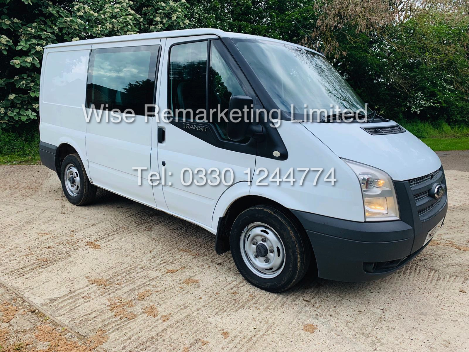 FORD TRANSIT T280 100 2.2 TDCI 6 SEATER KOMBI/CREW VAN 2012 *6 SPEED* - Image 6 of 22