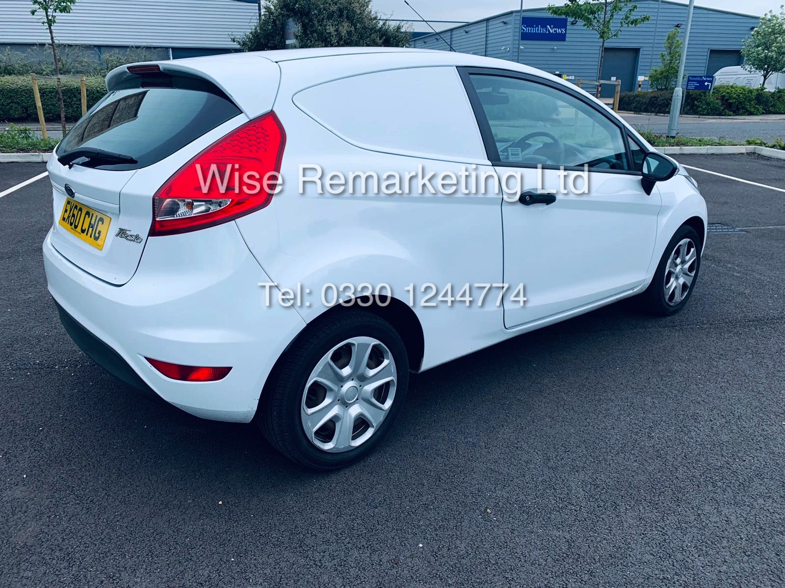 ** RESERVE MET* FORD FIESTA 1.4 TDCI CAR DERIVED VAN *FSH* (2011 SPEC) VERY WELL MAINTAINED - Image 11 of 21