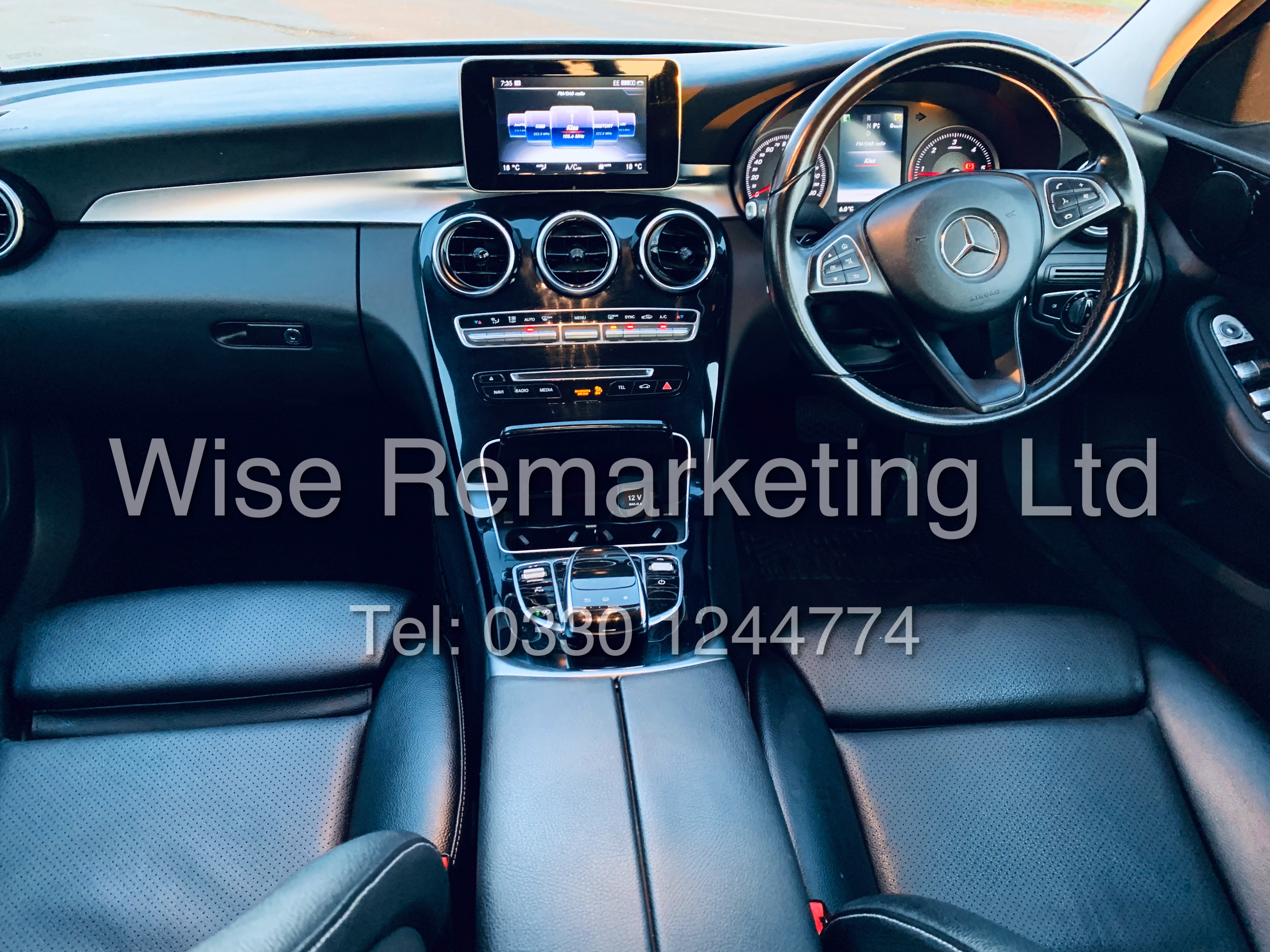 """*** RESERVE MET *** MERCEDES C220D AUTOMATIC """"SE EXECUTIVE"""" SALOON (2016) 1 OWNER / SAT NAV LEATHER - Image 18 of 25"""