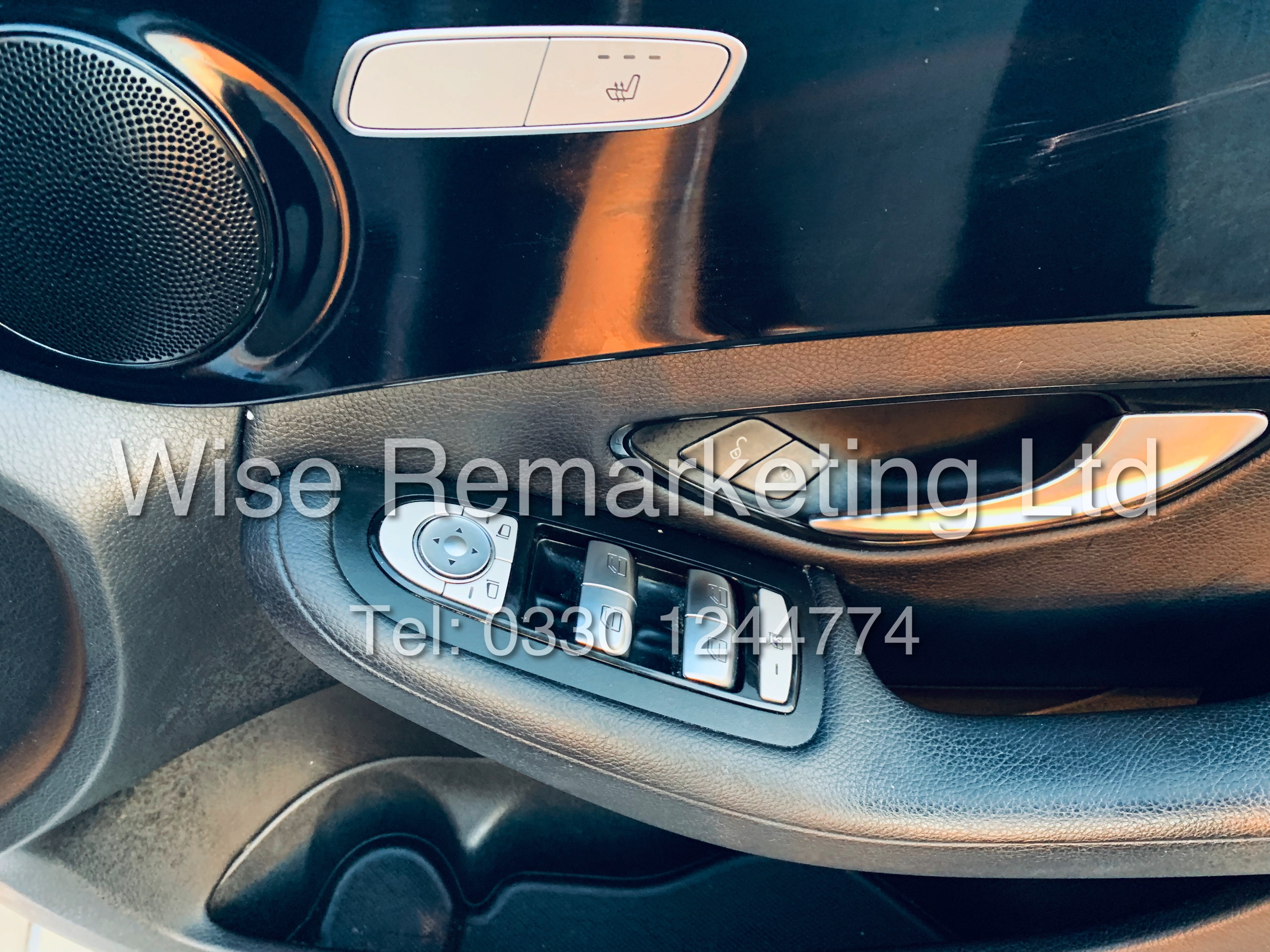 """*** RESERVE MET *** MERCEDES C220D AUTOMATIC """"SE EXECUTIVE"""" SALOON (2016) 1 OWNER / SAT NAV LEATHER - Image 22 of 25"""