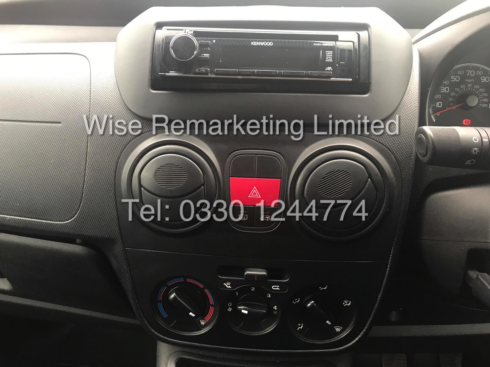 *** RESERVE MET*** CITROEN NEMO 1.3 HDI LX EDITION 2013 13 REG/ ULTRA LOW MILES.... NO VAT TO PAY - Image 7 of 13