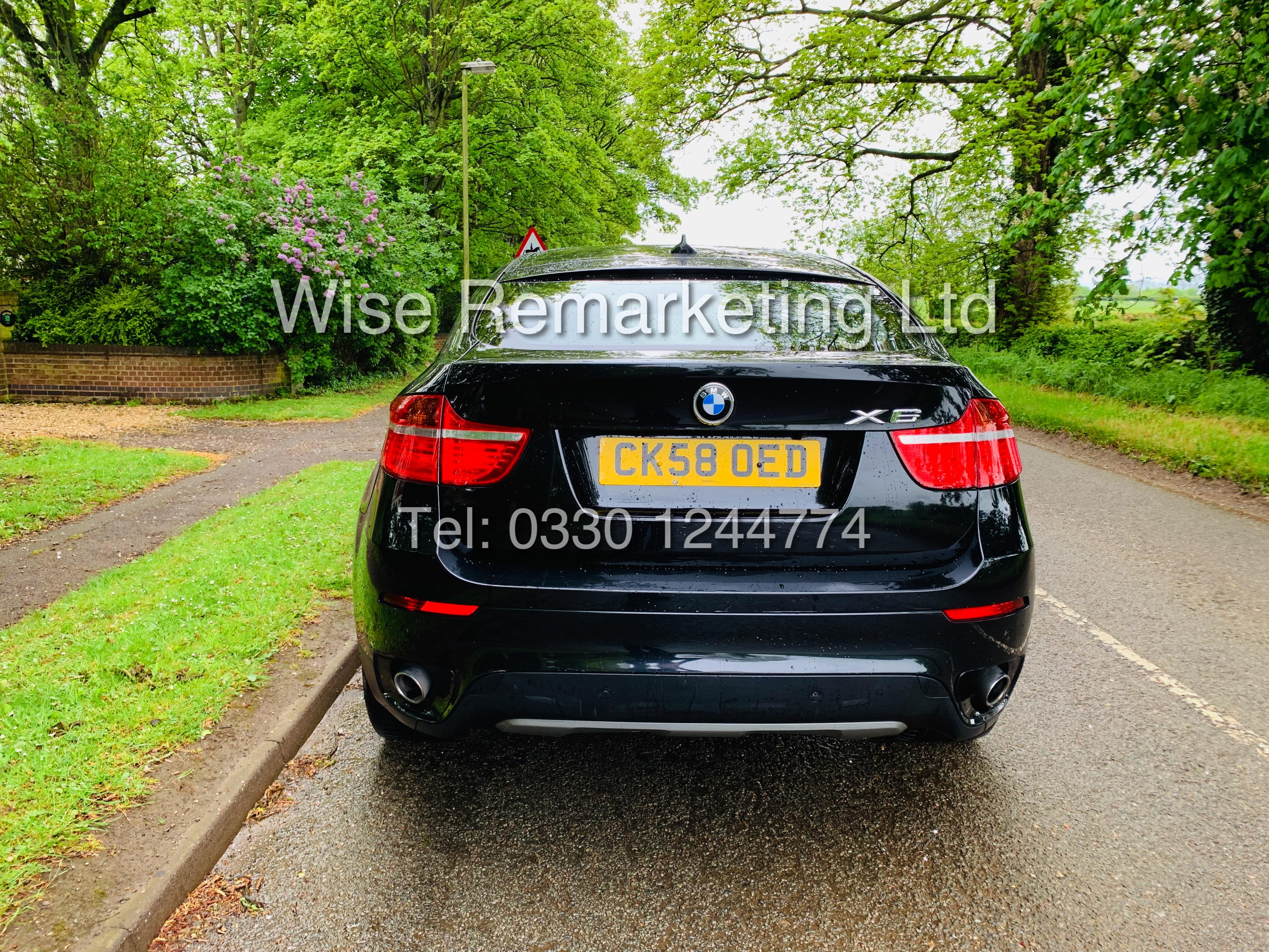 BMW X6 XDRIVE 35D AUTO (2009 SPEC) *1 PREVIOUS OWNER* PARKING AID - SAT NAV - FSH - Image 3 of 25