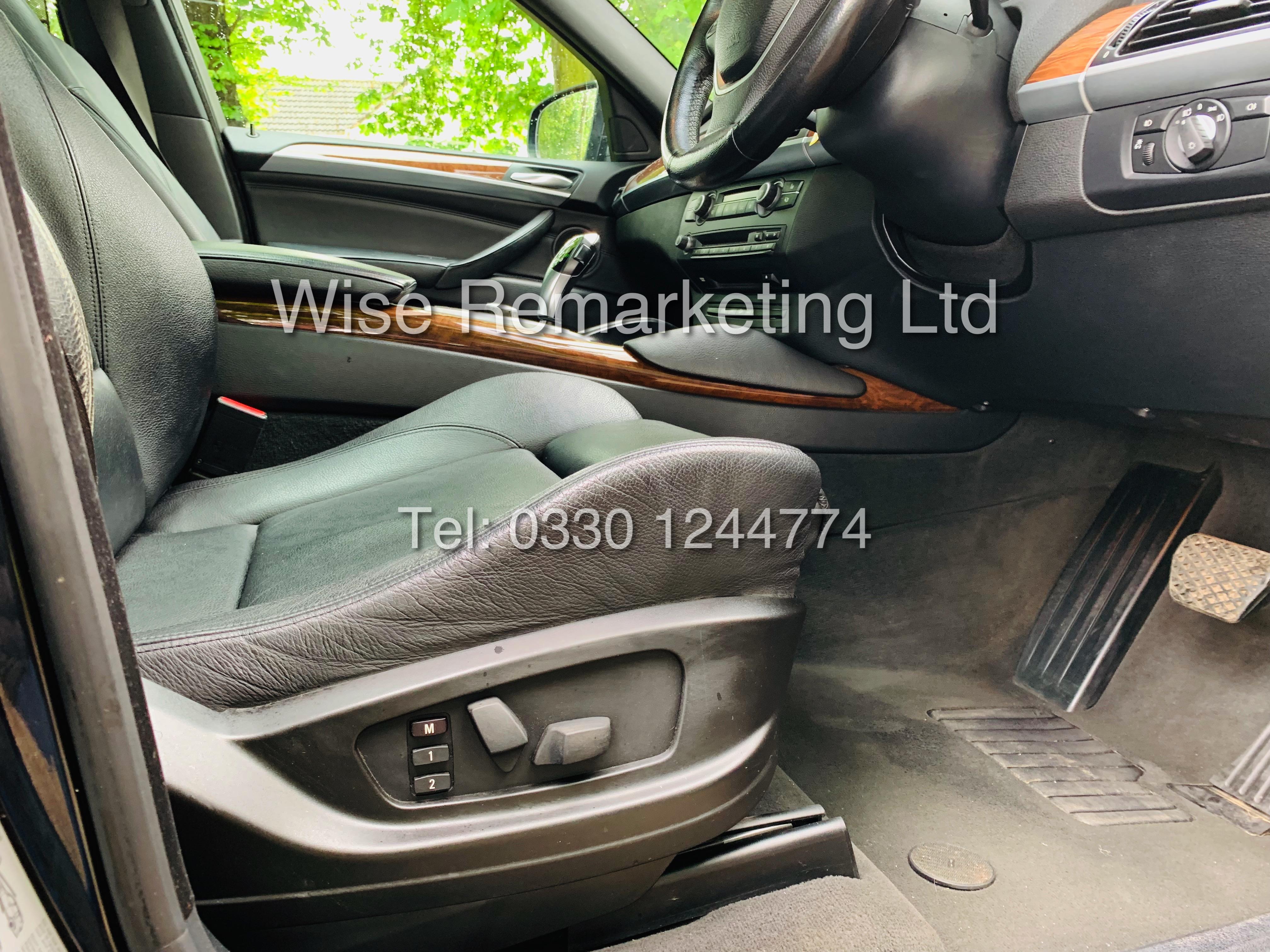 BMW X6 XDRIVE 35D AUTO (2009 SPEC) *1 PREVIOUS OWNER* PARKING AID - SAT NAV - FSH - Image 18 of 25