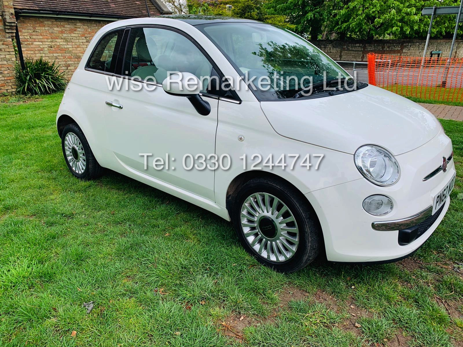 **RESERVE MET** FIAT 500 1.2 LOUNGE DUALOGIC STOP/START (2013 SPEC) ONLY 36K MILES *1 OWNER* AIR CON - Image 7 of 23
