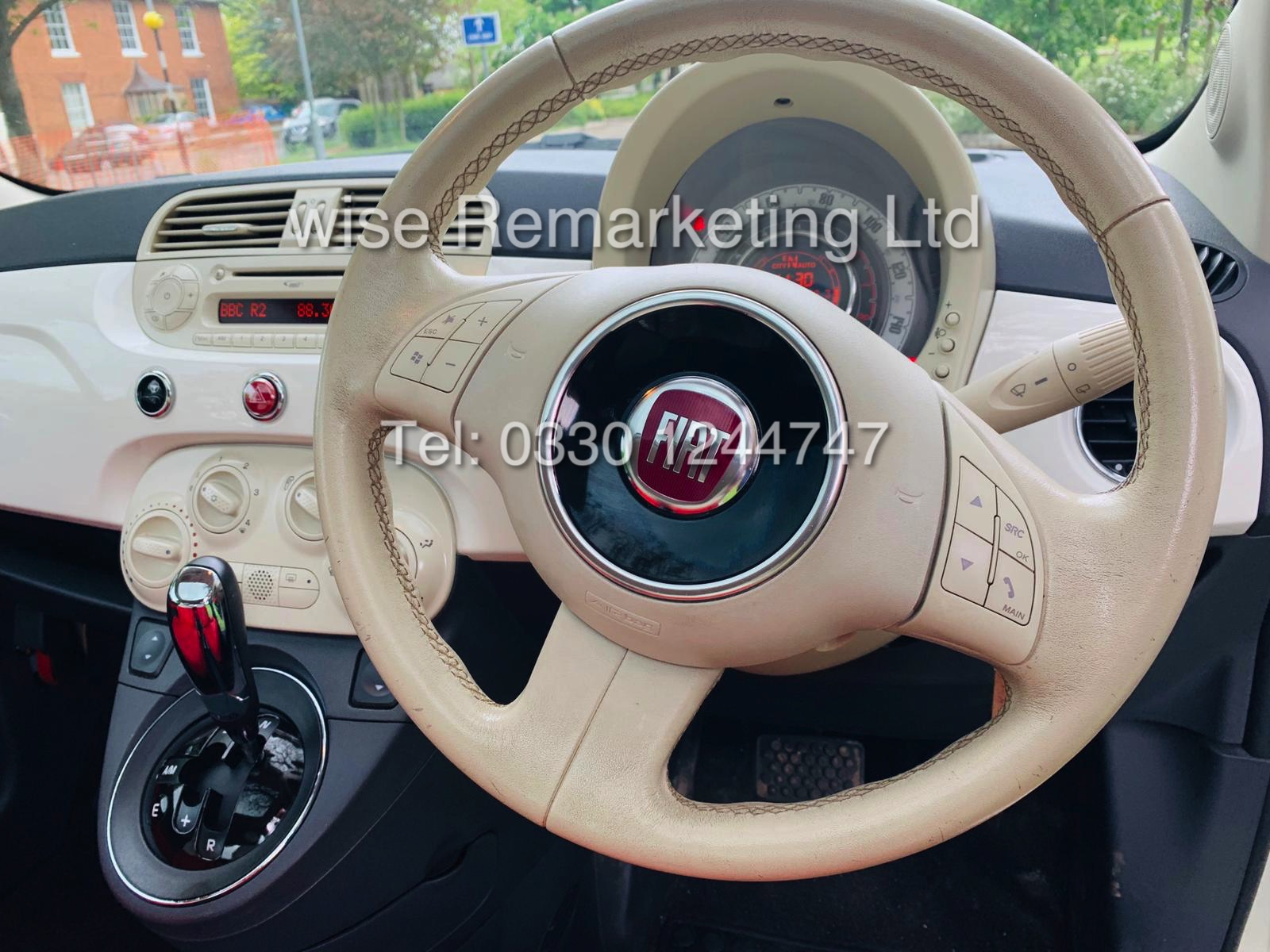 **RESERVE MET** FIAT 500 1.2 LOUNGE DUALOGIC STOP/START (2013 SPEC) ONLY 36K MILES *1 OWNER* AIR CON - Image 15 of 23