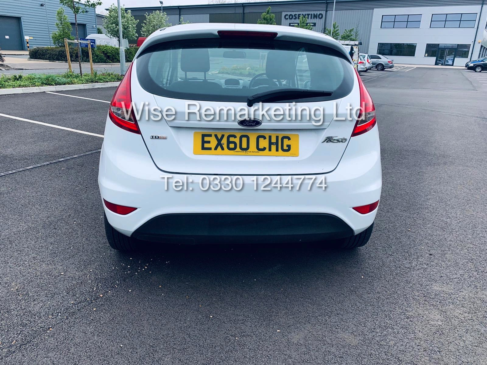 ** RESERVE MET* FORD FIESTA 1.4 TDCI CAR DERIVED VAN *FSH* (2011 SPEC) VERY WELL MAINTAINED - Image 5 of 21