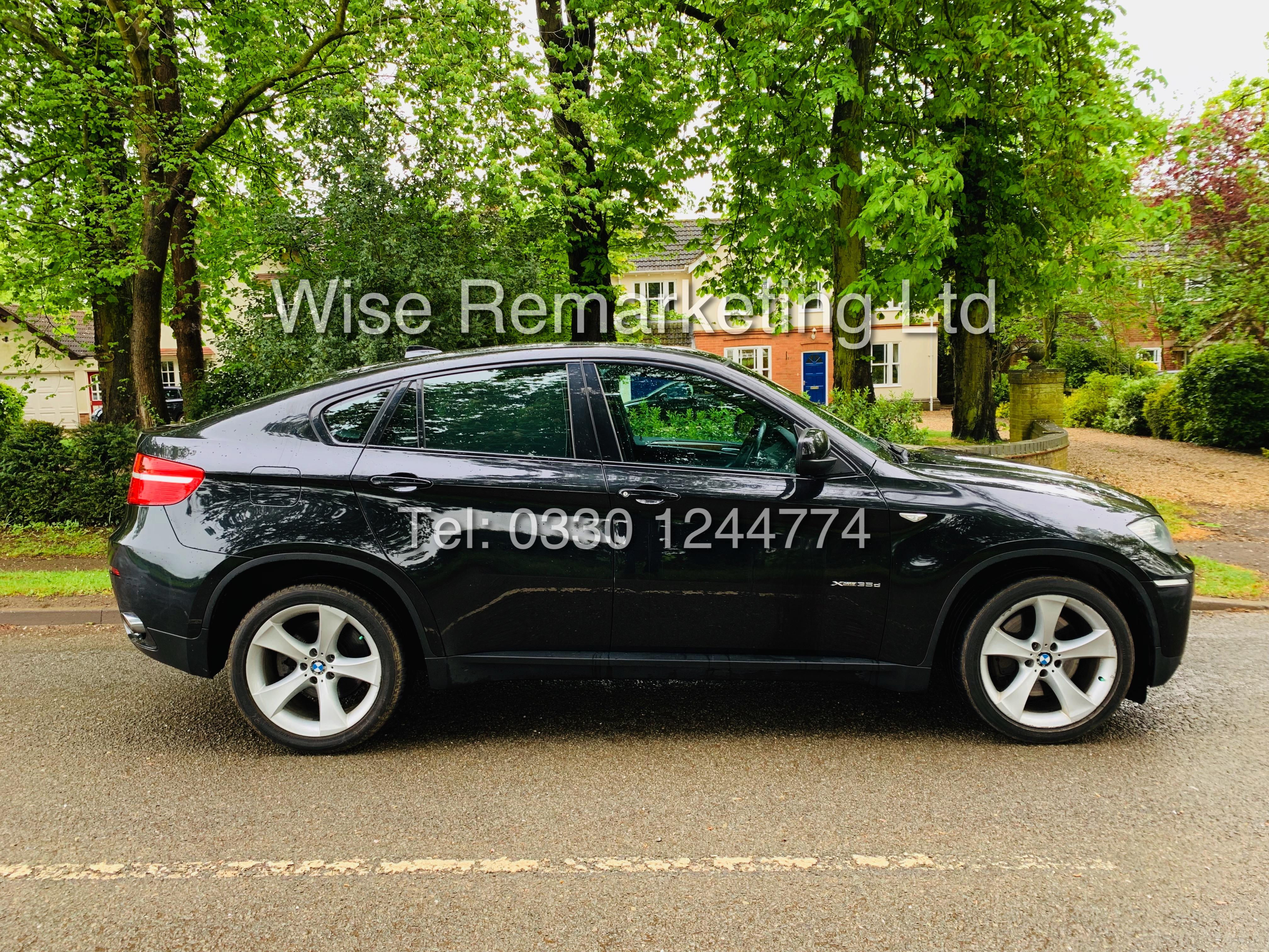 BMW X6 XDRIVE 35D AUTO (2009 SPEC) *1 PREVIOUS OWNER* PARKING AID - SAT NAV - FSH - Image 6 of 25