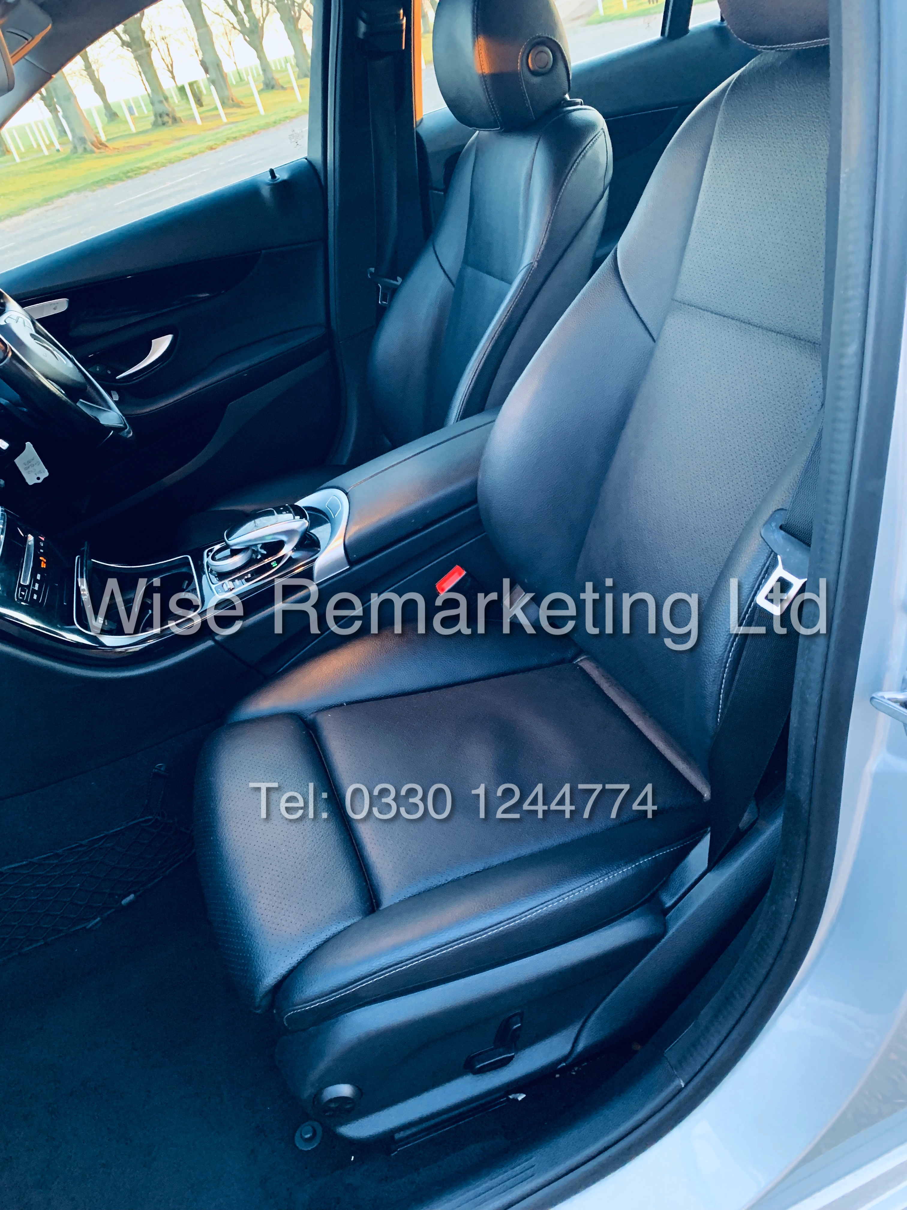"""*** RESERVE MET *** MERCEDES C220D AUTOMATIC """"SE EXECUTIVE"""" SALOON (2016) 1 OWNER / SAT NAV LEATHER - Image 13 of 25"""