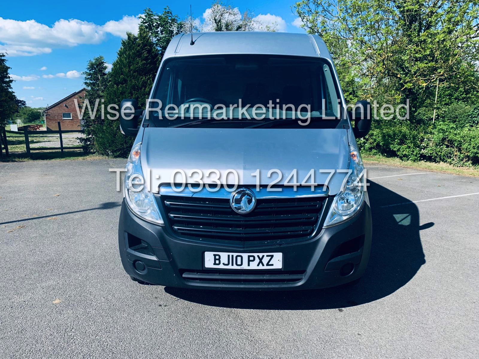 *** RESERVE MET*** VAUXHALL MOVANO 2.3CDTI F3500 / 2010 / AIR CON / ELEC PACK / METALLIC PAINT - Image 3 of 14