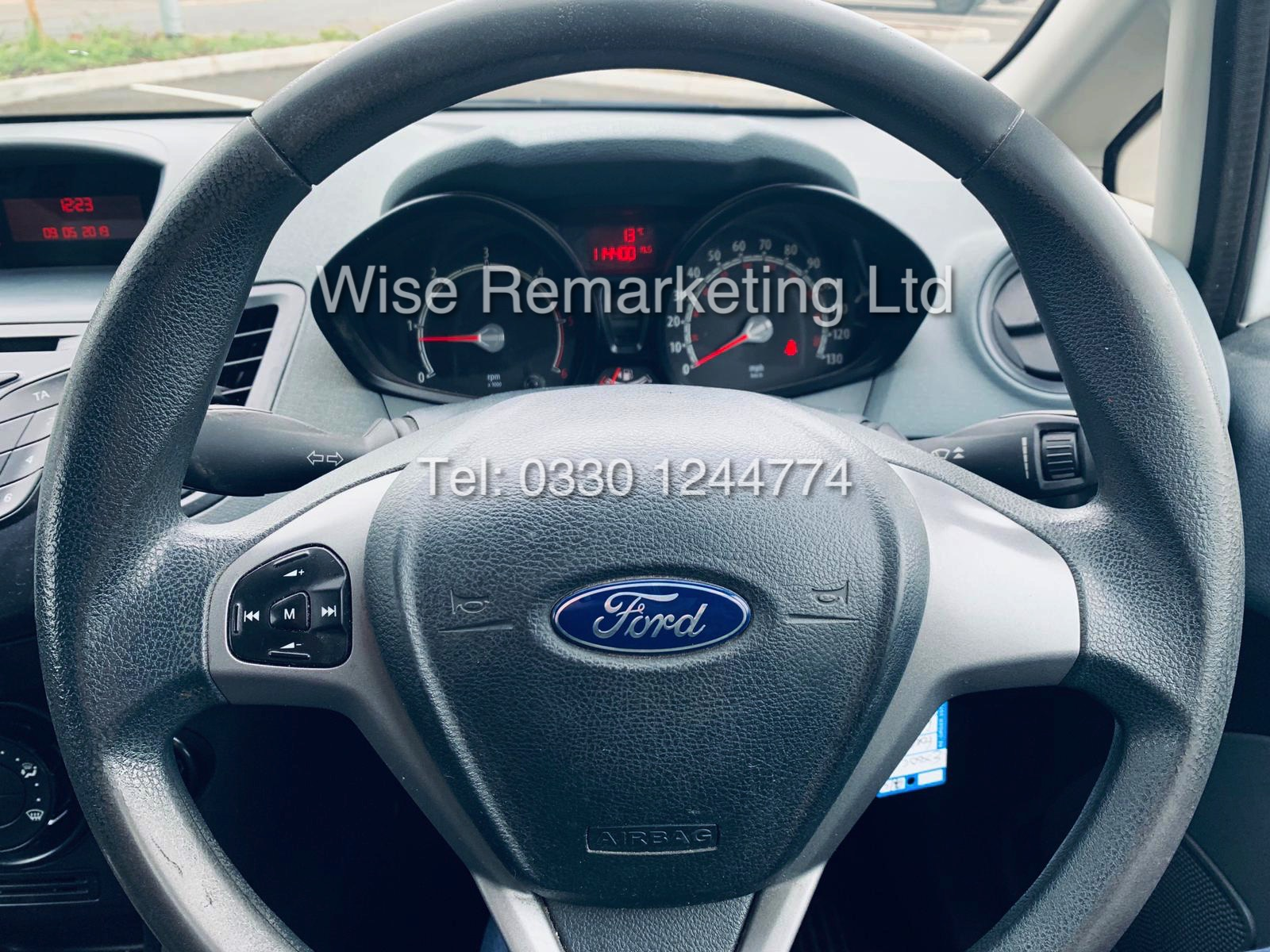 ** RESERVE MET* FORD FIESTA 1.4 TDCI CAR DERIVED VAN *FSH* (2011 SPEC) VERY WELL MAINTAINED - Image 16 of 21