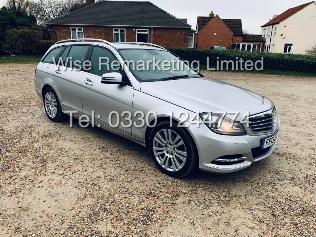 MERCEDES C220 SE EXECUTIVE ESTATE 2.1 CDI 13 REG *CREAM LEATHER*
