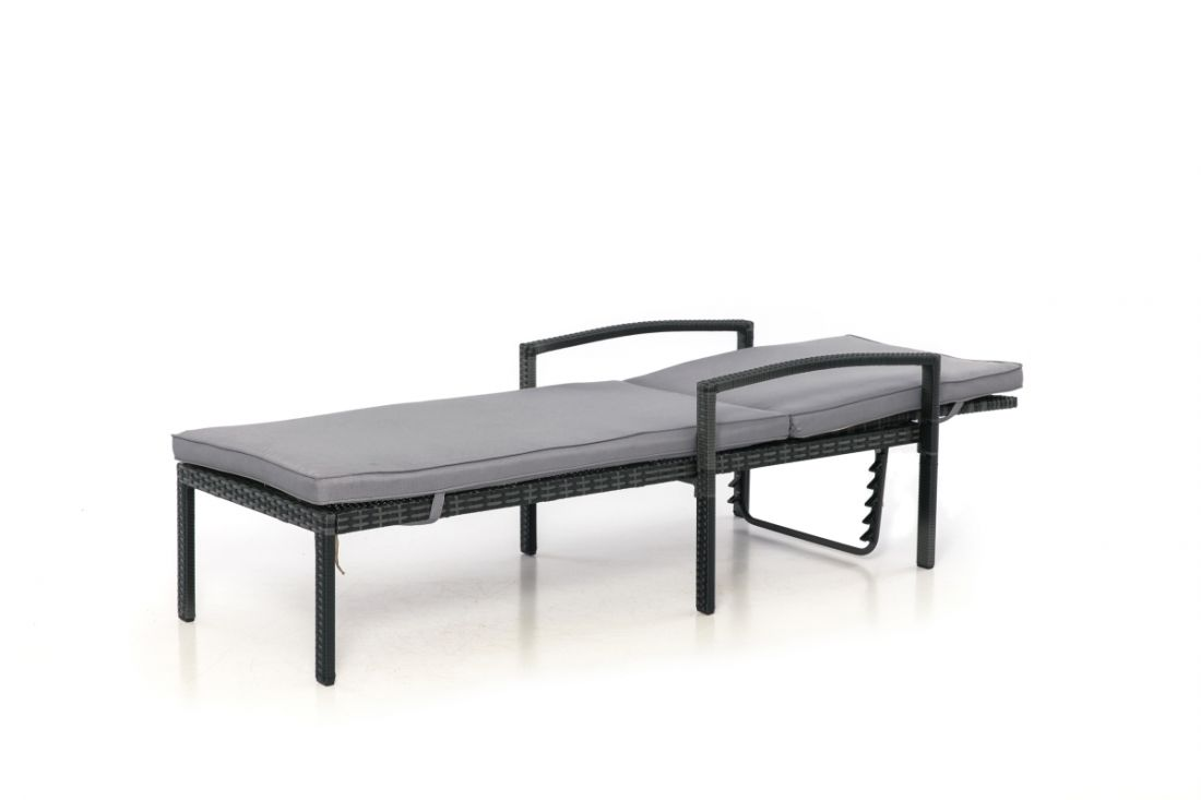 Rattan Austin Sun Lounger (Grey) *BRAND NEW* - Image 2 of 2
