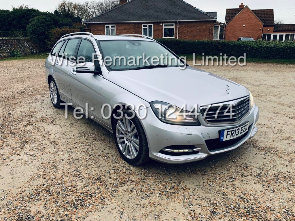 MERCEDES C220 SE EXECUTIVE ESTATE 2.1 CDI 13 REG *CREAM LEATHER* - Image 2 of 23
