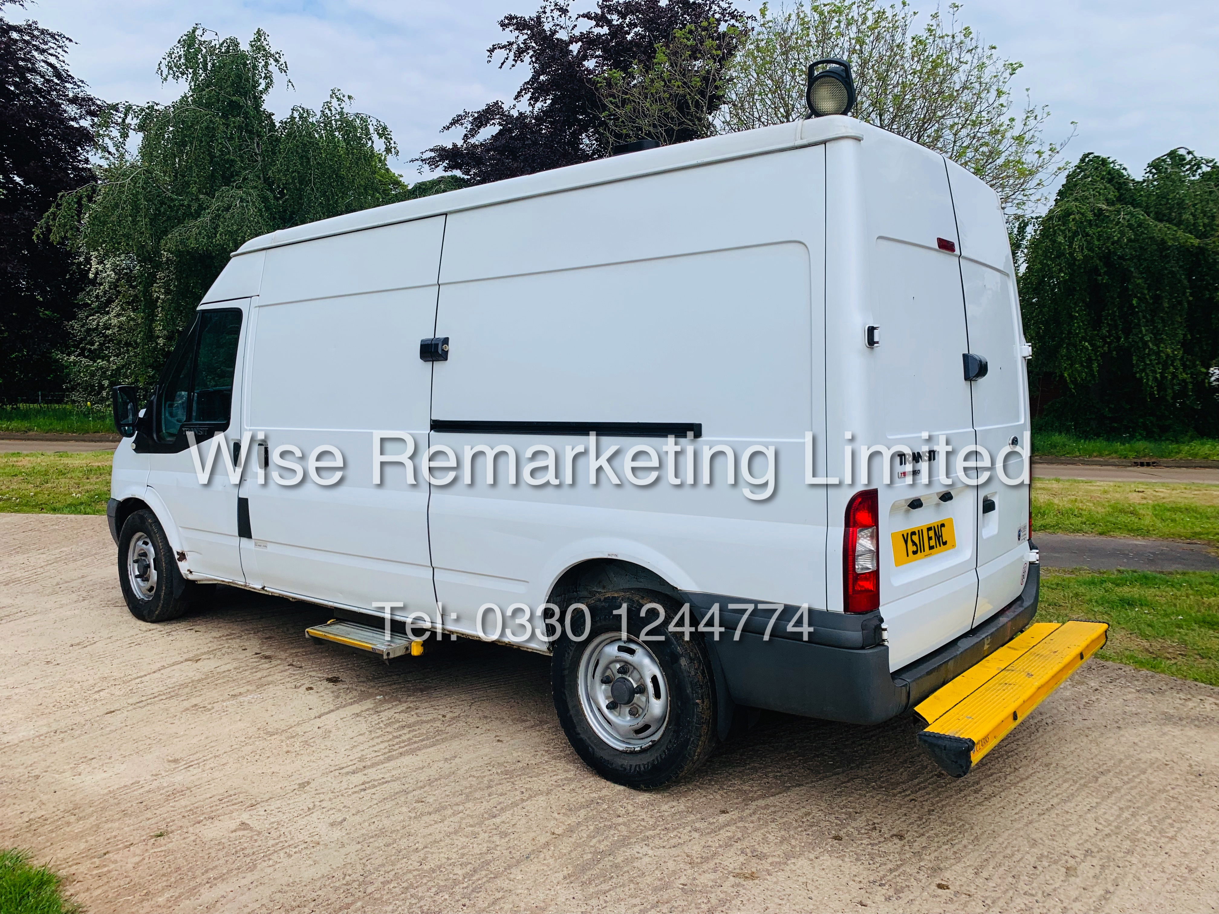 FORD TRANSIT T350 115 2.2 TDCI LWB 2011 *1 COMPANY OWNER* - Image 5 of 22