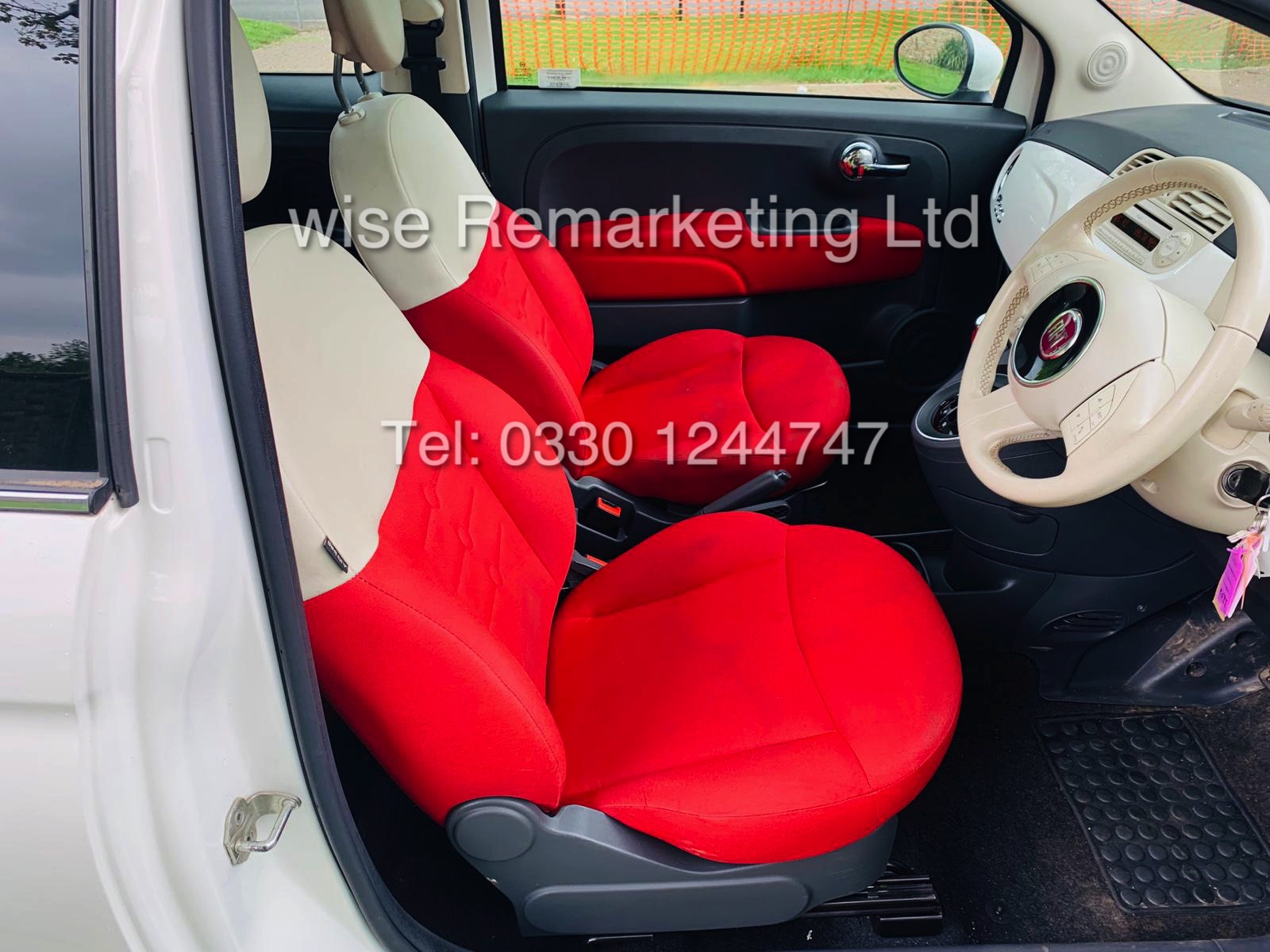 **RESERVE MET** FIAT 500 1.2 LOUNGE DUALOGIC STOP/START (2013 SPEC) ONLY 36K MILES *1 OWNER* AIR CON - Image 19 of 23