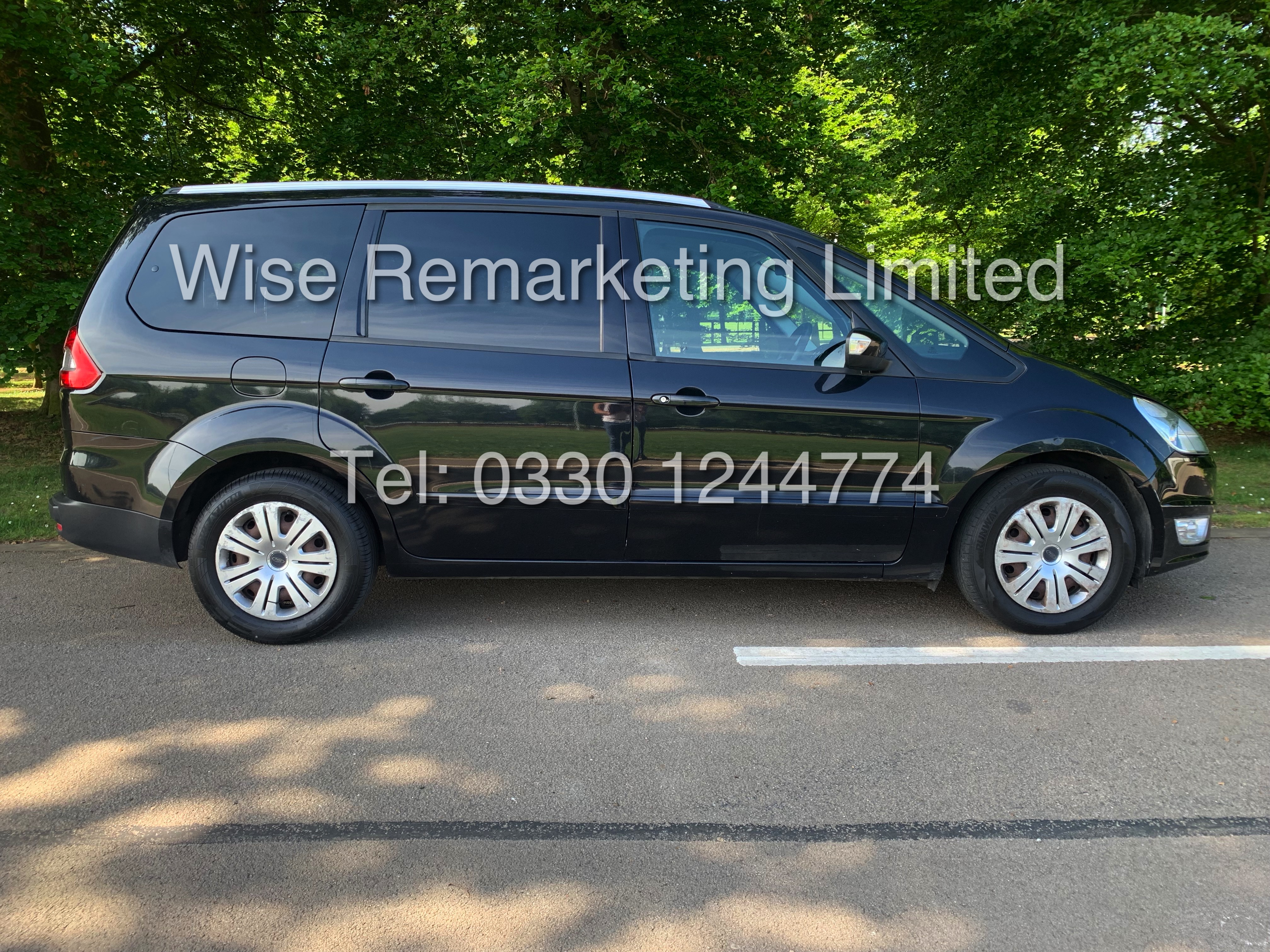FORD GALAXY ZETEC 2.0L TDCI AUTO 7 SEATER MPV 63 REG *1 OWNER* - Image 2 of 20