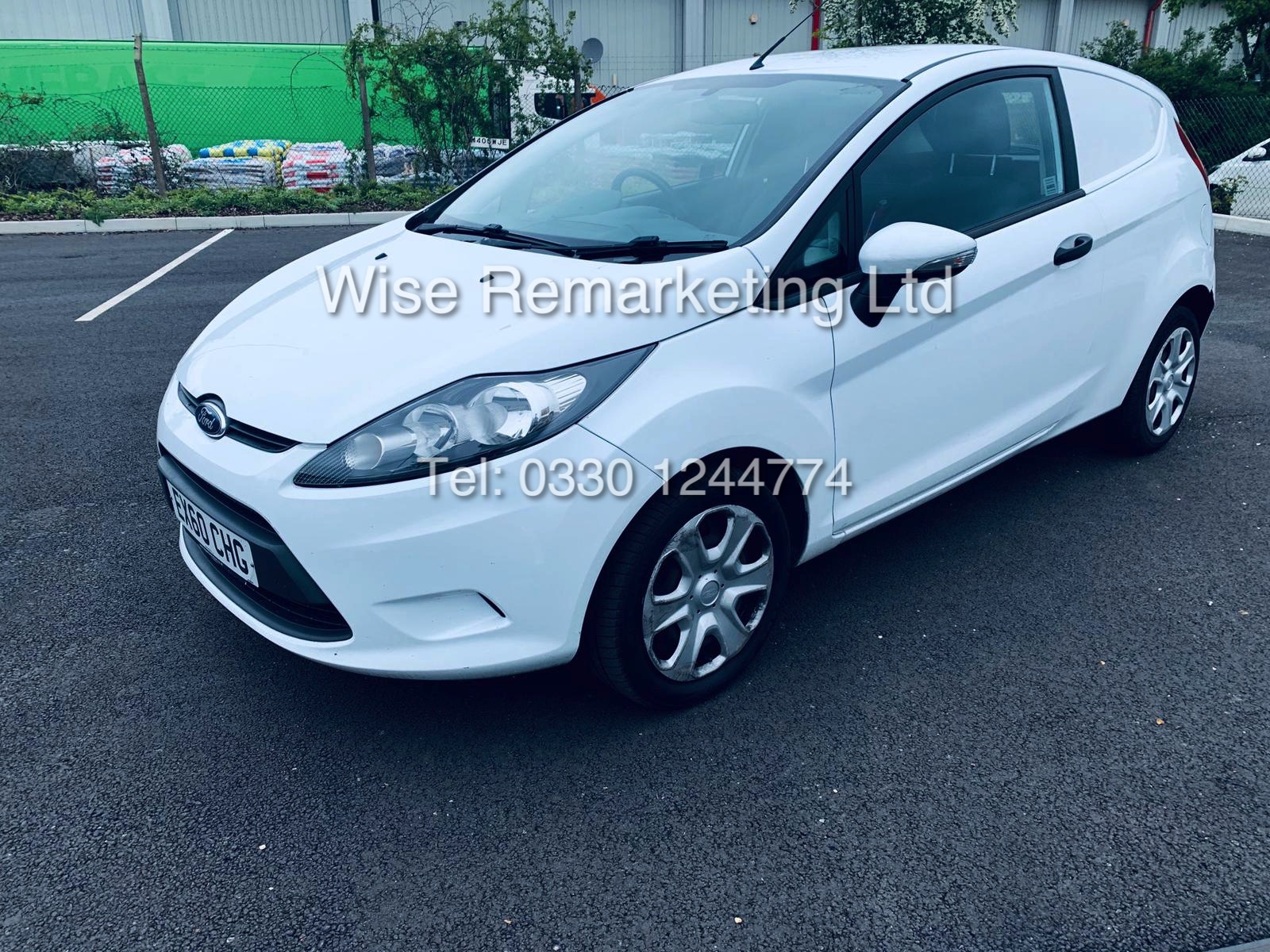 ** RESERVE MET* FORD FIESTA 1.4 TDCI CAR DERIVED VAN *FSH* (2011 SPEC) VERY WELL MAINTAINED - Image 9 of 21