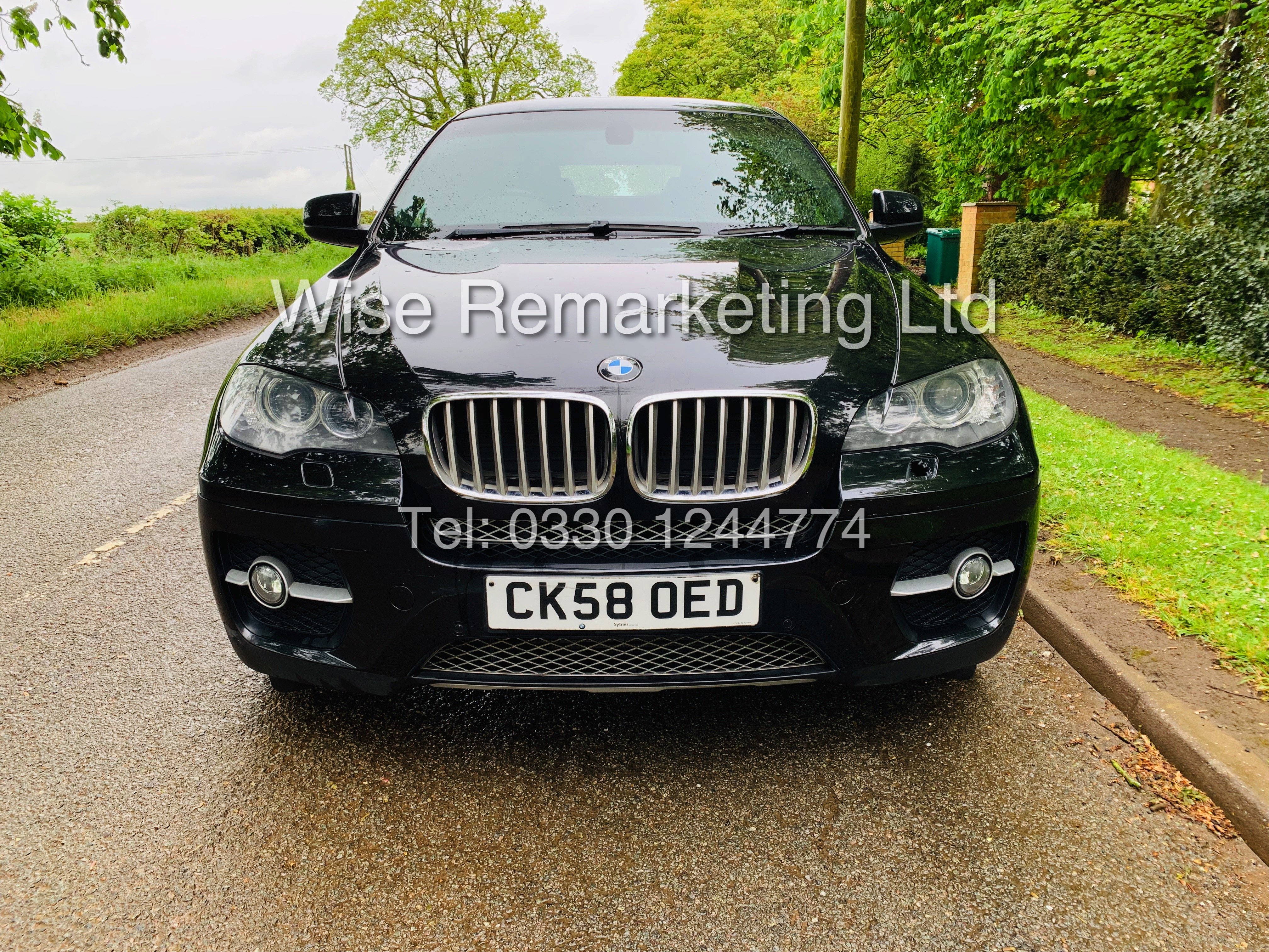 BMW X6 XDRIVE 35D AUTO (2009 SPEC) *1 PREVIOUS OWNER* PARKING AID - SAT NAV - FSH - Image 4 of 25