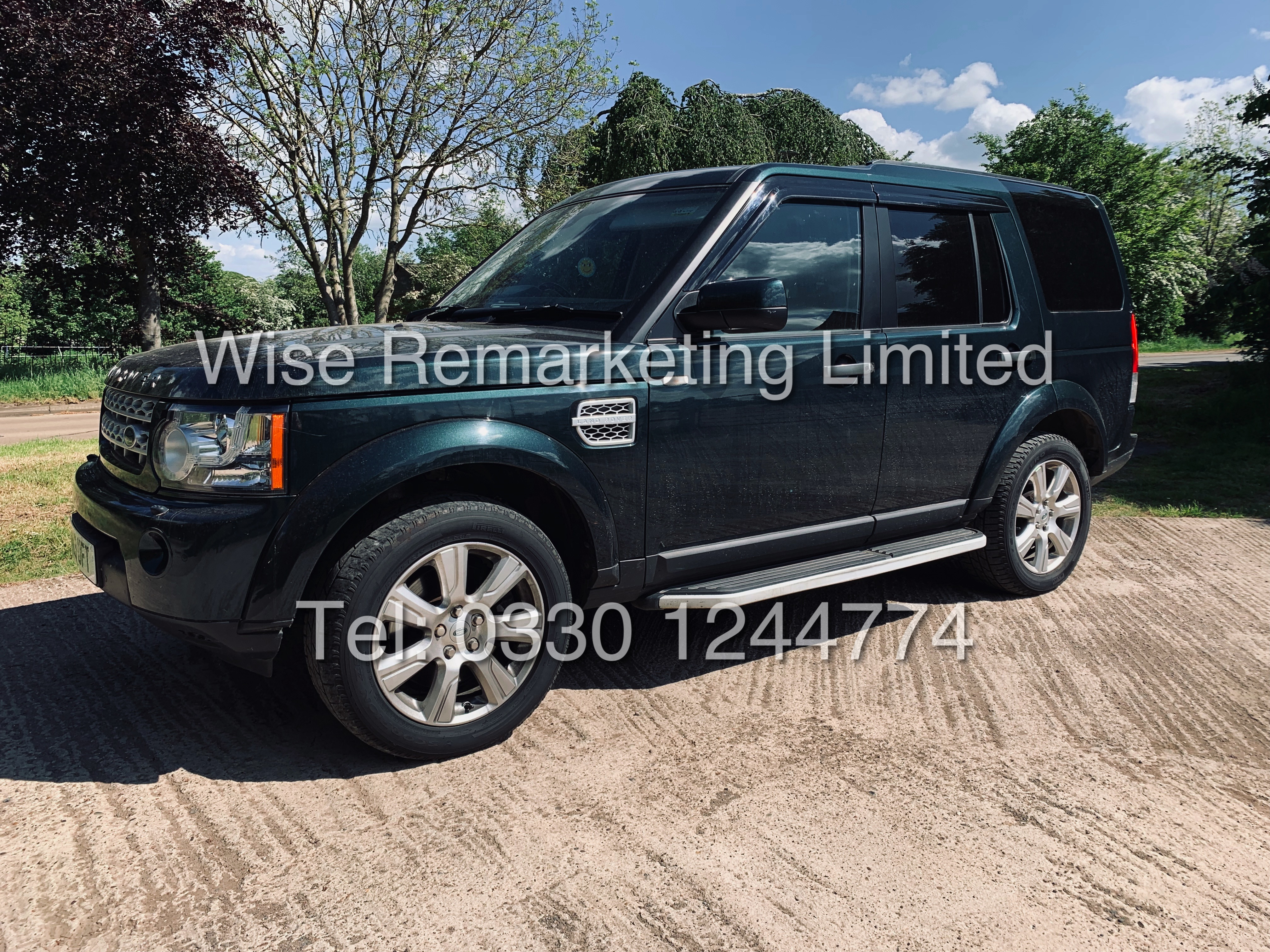**RESERVE MET** Land Rover Discovery (HSE) 3.0Sdv6 Automatic / 2013 Registered / Fully Loaded /