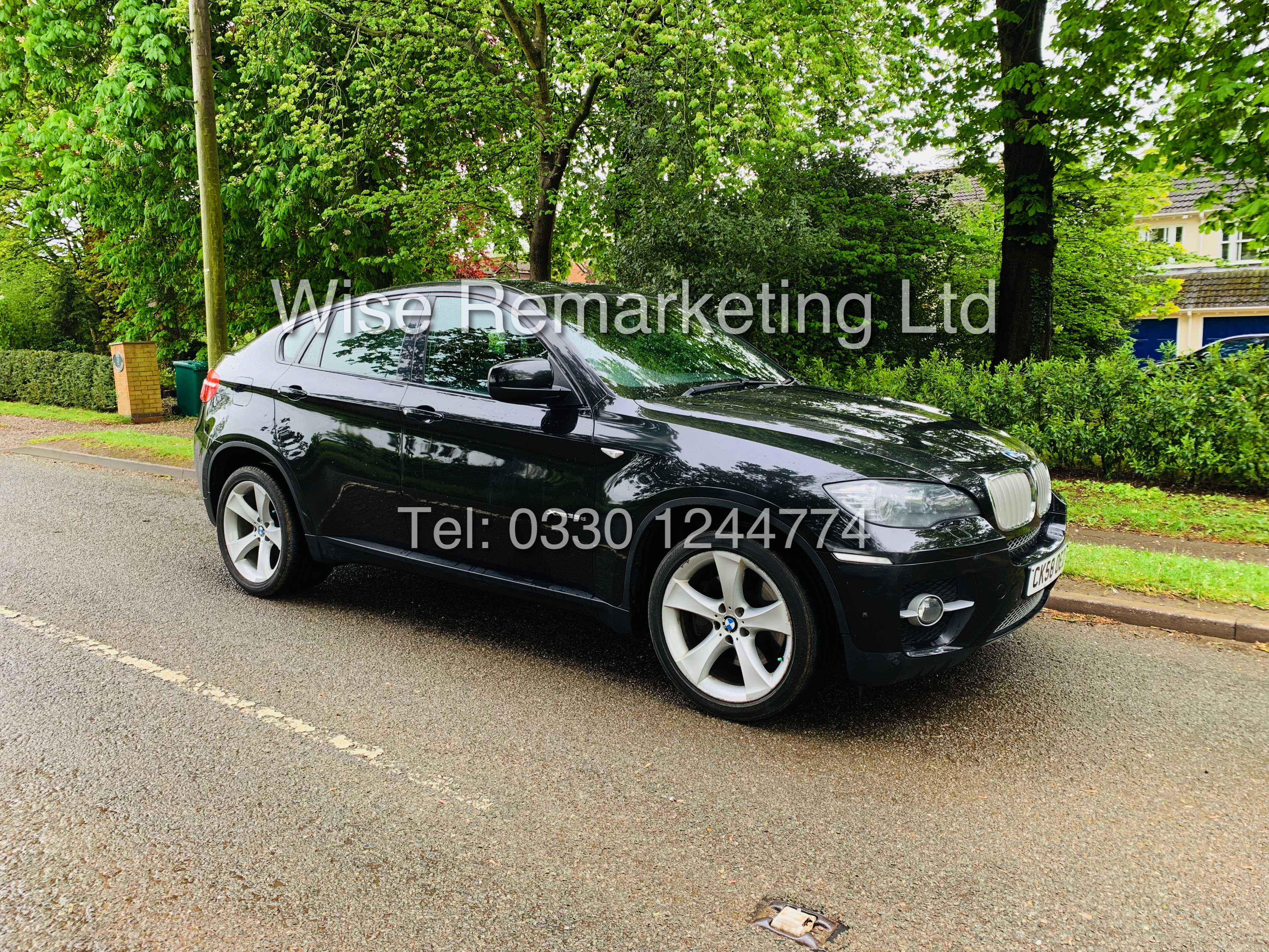 BMW X6 XDRIVE 35D AUTO (2009 SPEC) *1 PREVIOUS OWNER* PARKING AID - SAT NAV - FSH - Image 7 of 25