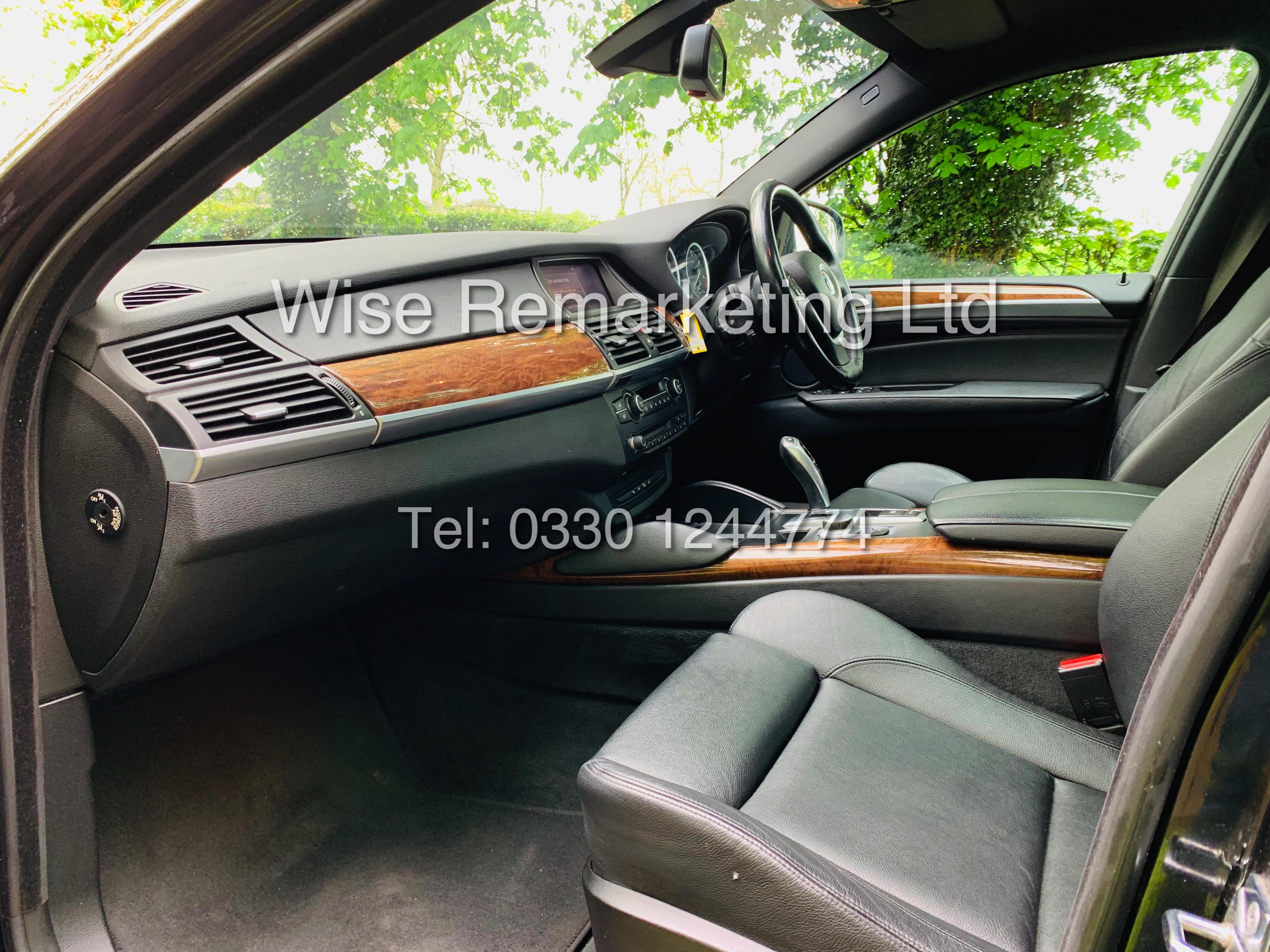 BMW X6 XDRIVE 35D AUTO (2009 SPEC) *1 PREVIOUS OWNER* PARKING AID - SAT NAV - FSH - Image 12 of 25