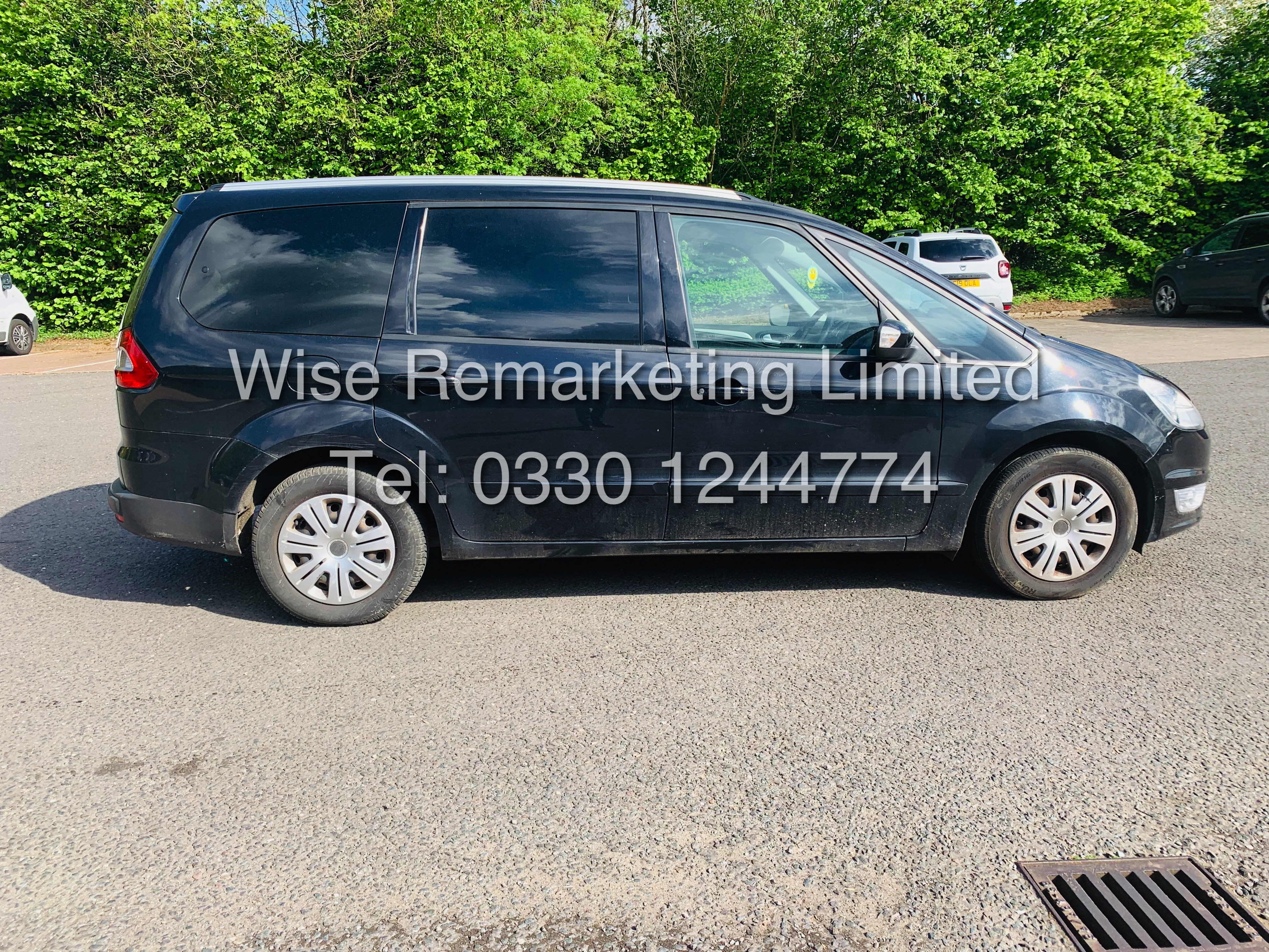 FORD GALAXY ZETEC 2.0L TDCI AUTO 7 SEATER MPV 63 REG *1 OWNER* - Image 3 of 18