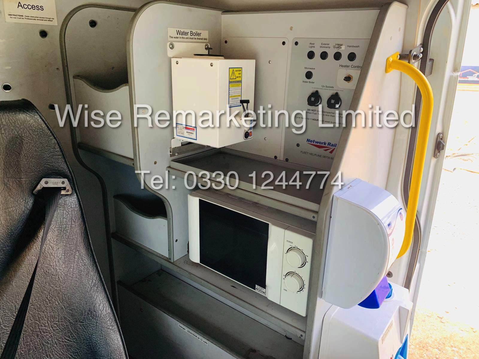 FORD TRANSIT T350L 2.4 TDCI *8 SEATER CREW VAN* (MESSING UNIT) 11 REG - Image 18 of 21