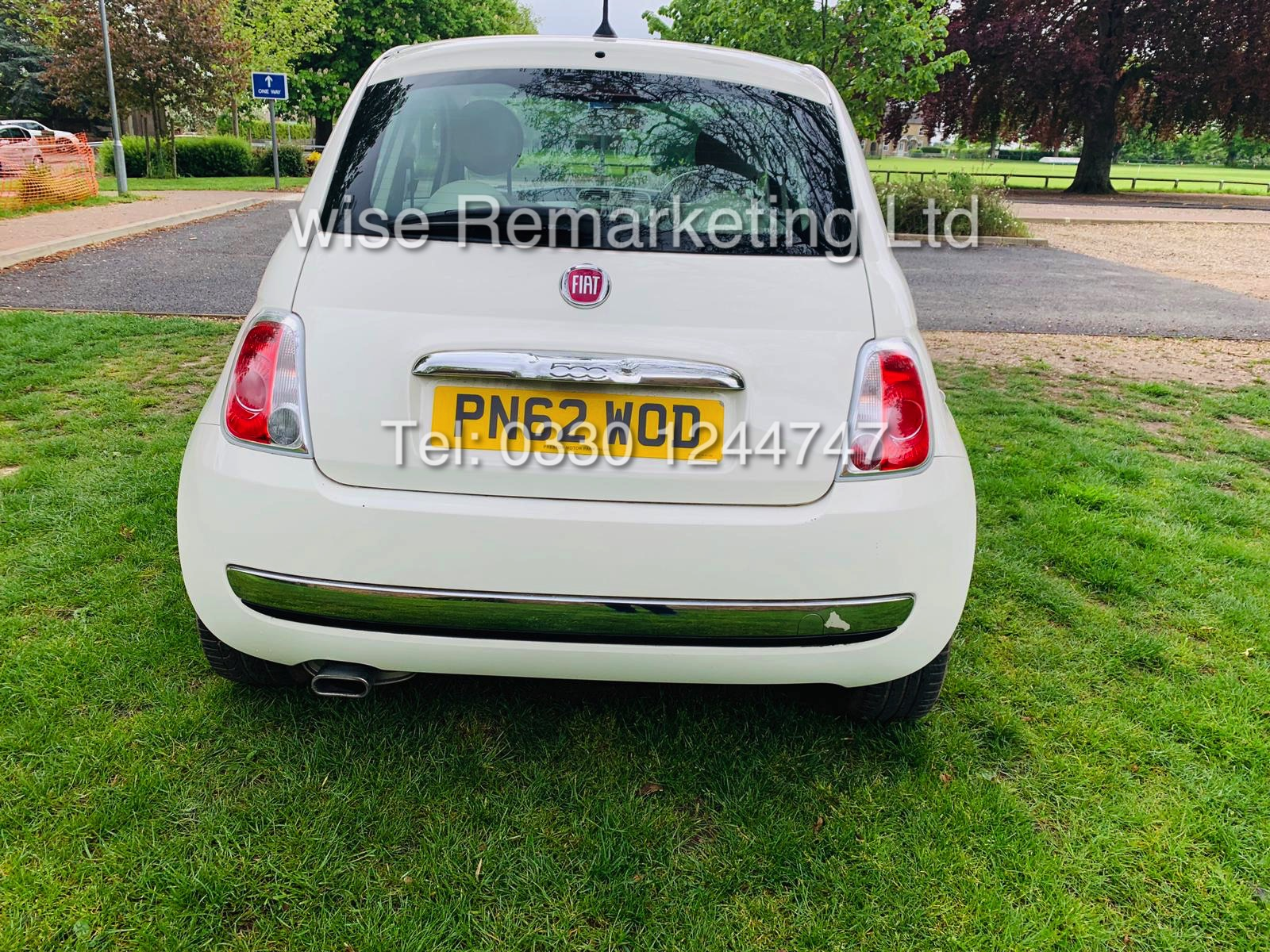 **RESERVE MET** FIAT 500 1.2 LOUNGE DUALOGIC STOP/START (2013 SPEC) ONLY 36K MILES *1 OWNER* AIR CON - Image 2 of 23