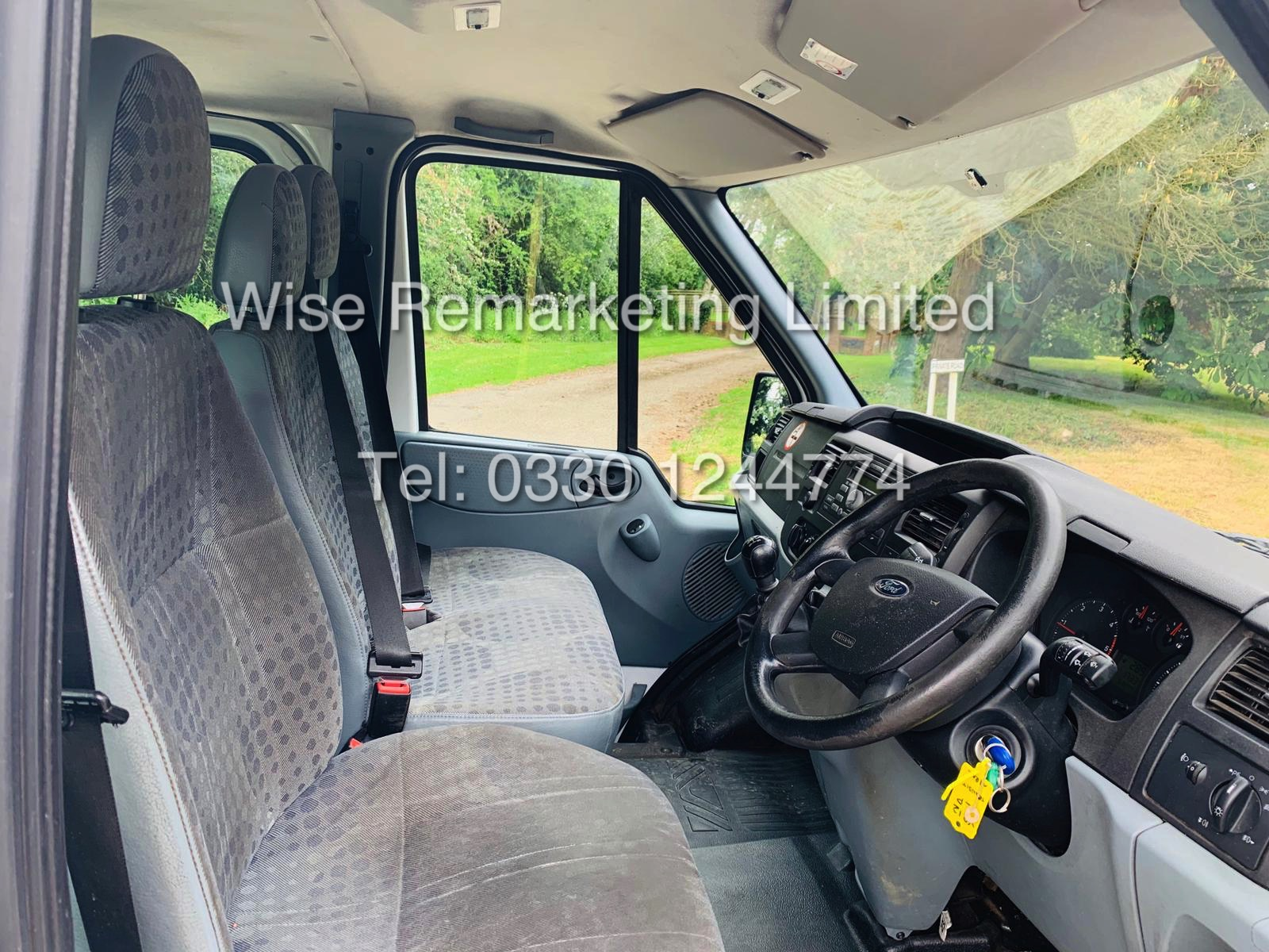 FORD TRANSIT T280 100 2.2 TDCI 6 SEATER KOMBI/CREW VAN 2012 *6 SPEED* - Image 11 of 22