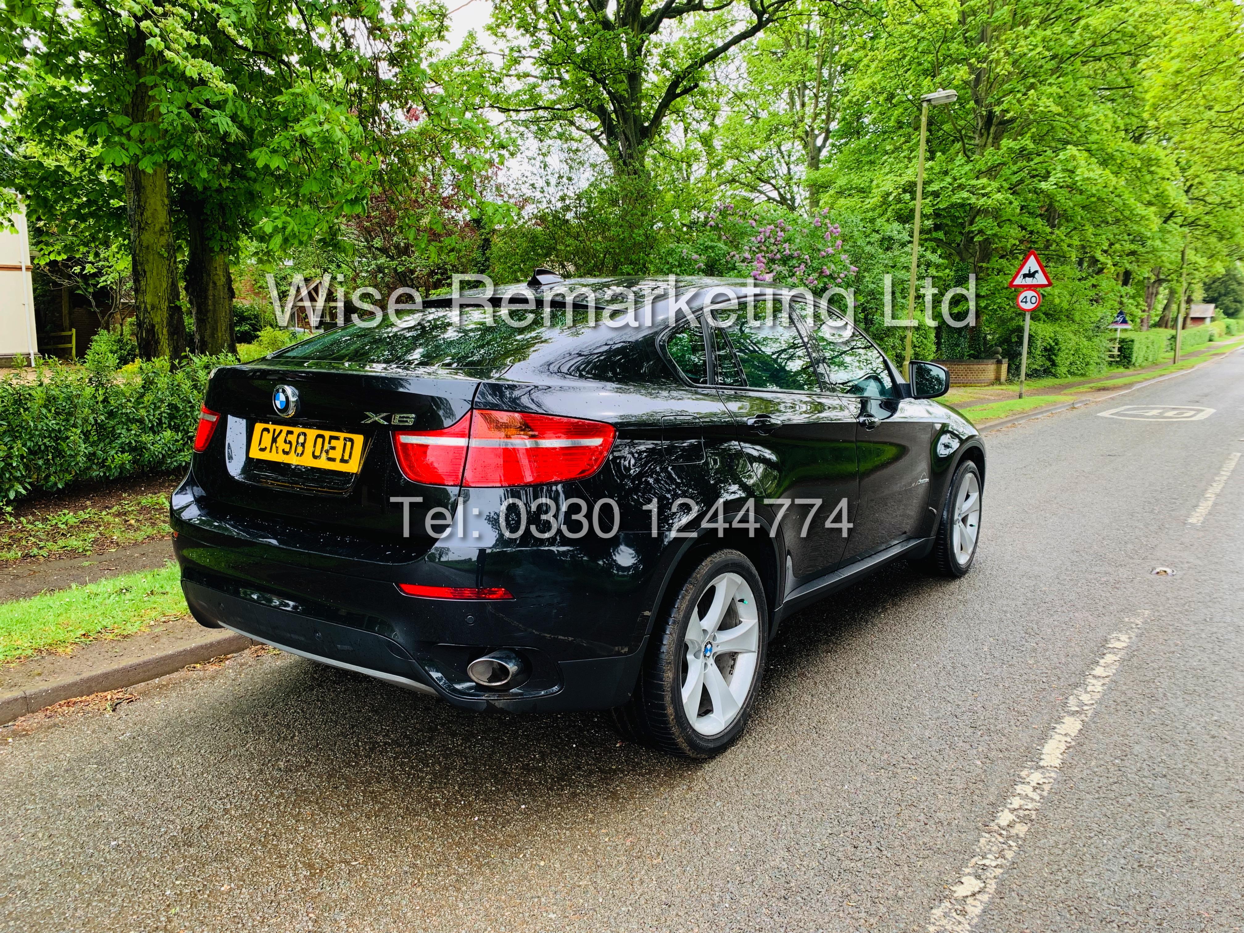 BMW X6 XDRIVE 35D AUTO (2009 SPEC) *1 PREVIOUS OWNER* PARKING AID - SAT NAV - FSH - Image 5 of 25