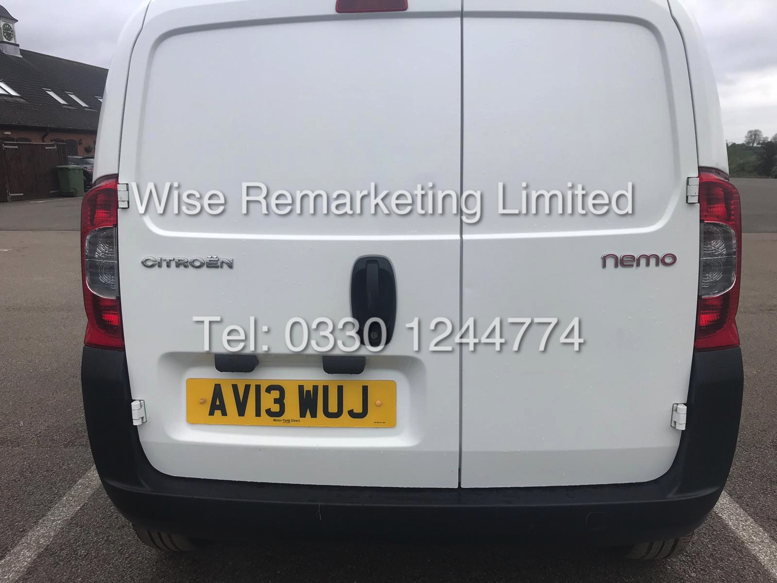 *** RESERVE MET*** CITROEN NEMO 1.3 HDI LX EDITION 2013 13 REG/ ULTRA LOW MILES.... NO VAT TO PAY - Image 5 of 13