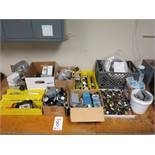 LOT - MISC PROCESS EQUIPMENT PRESSURE REGULATORS, SIGNAL ALARM MODULES, VARIOUS GAUGES, MISC