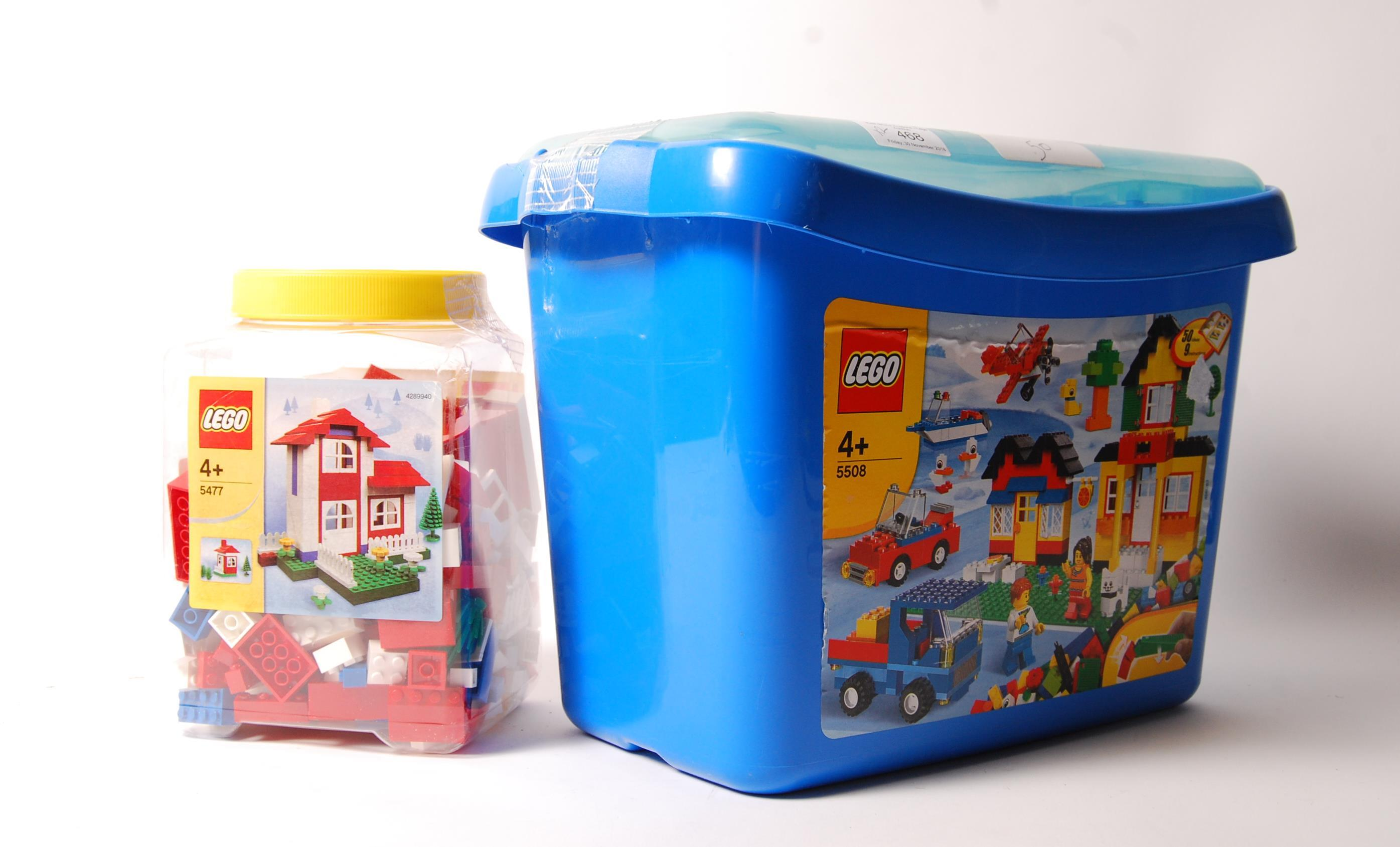 LEGO CREATOR SERIES NO. 5477 & BRICKS & MORE 5508