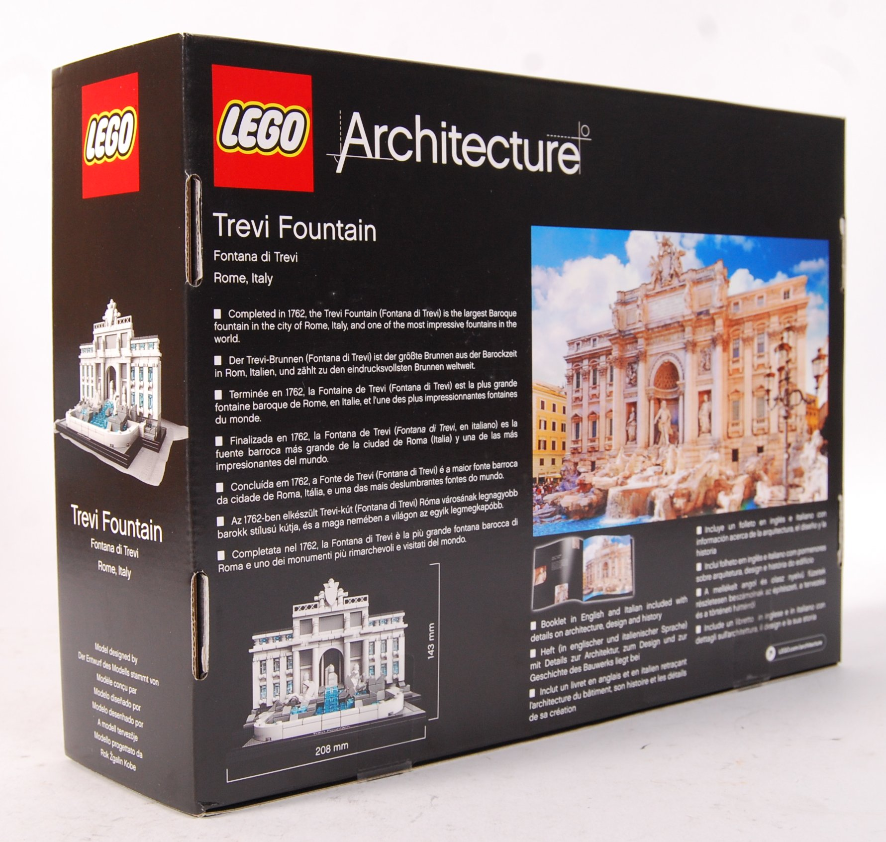 LEGO ARCHITECTURE 21020 ' TREVI FOUNTAIN ' BOXED S - Image 2 of 3