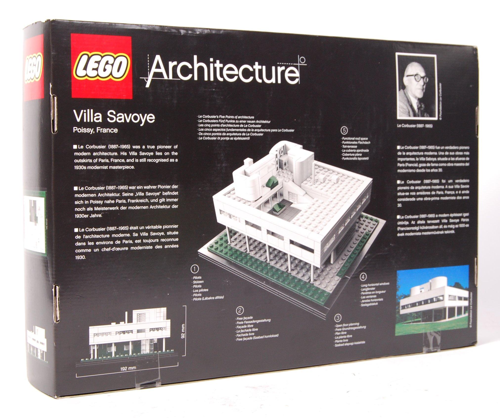 LEGO ARCHITECTURE SET NO. 21014 ' VILLA SAVOYE ' B - Image 2 of 2