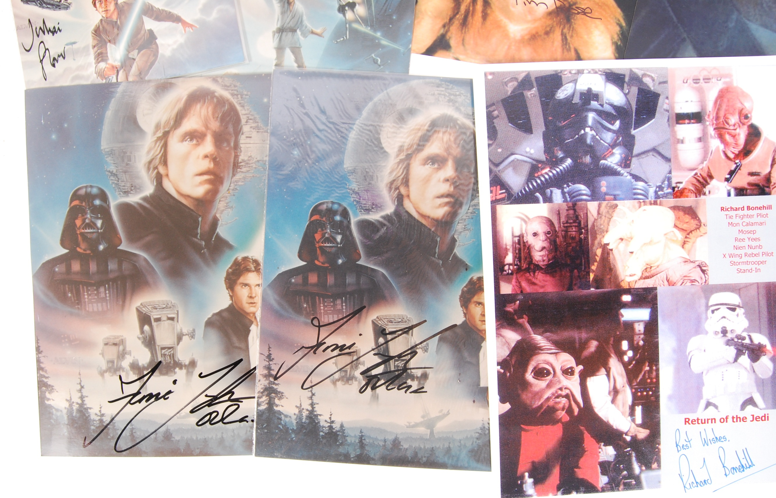 STAR WARS - SELECTION OF AUTOGRAPHED PHOTOGRAPHS - Image 4 of 4