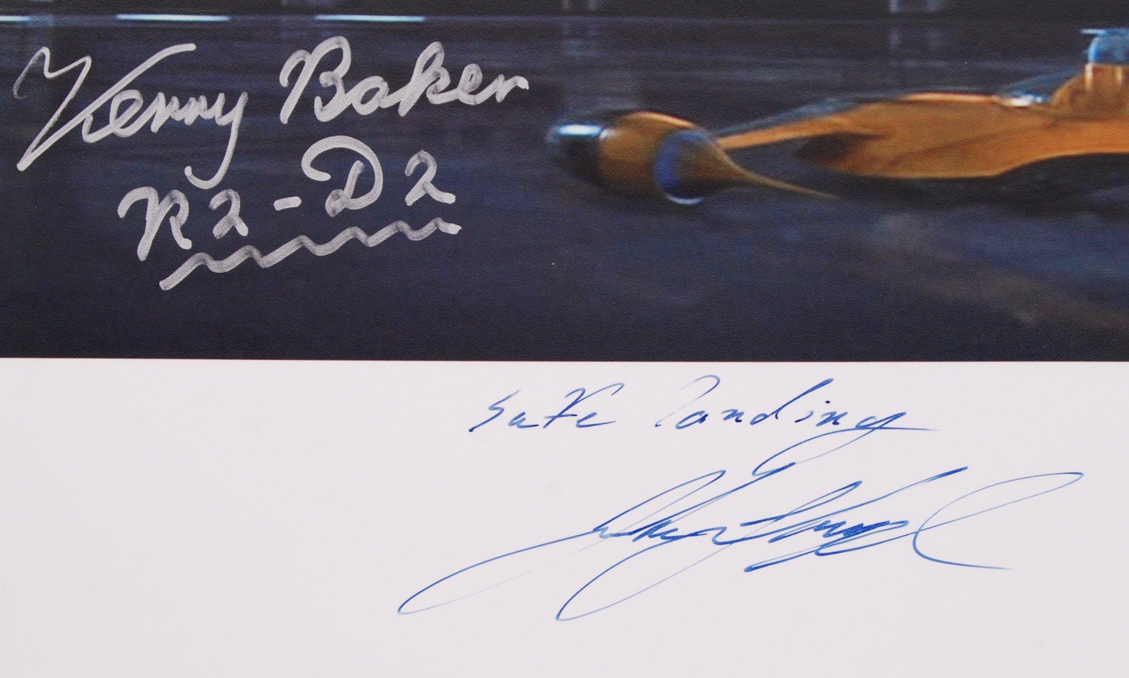 Lot 60 - STAR WARS - JAKE LLOYD & KENNY BAKER - AUTOGRAPHED