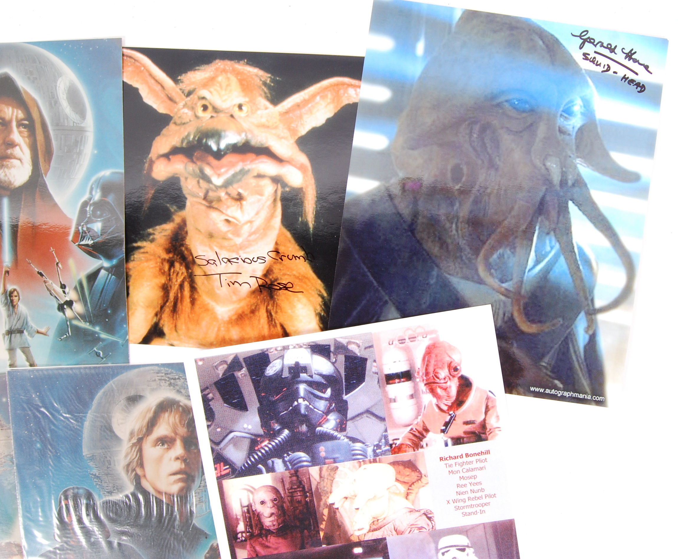 STAR WARS - SELECTION OF AUTOGRAPHED PHOTOGRAPHS - Image 3 of 4