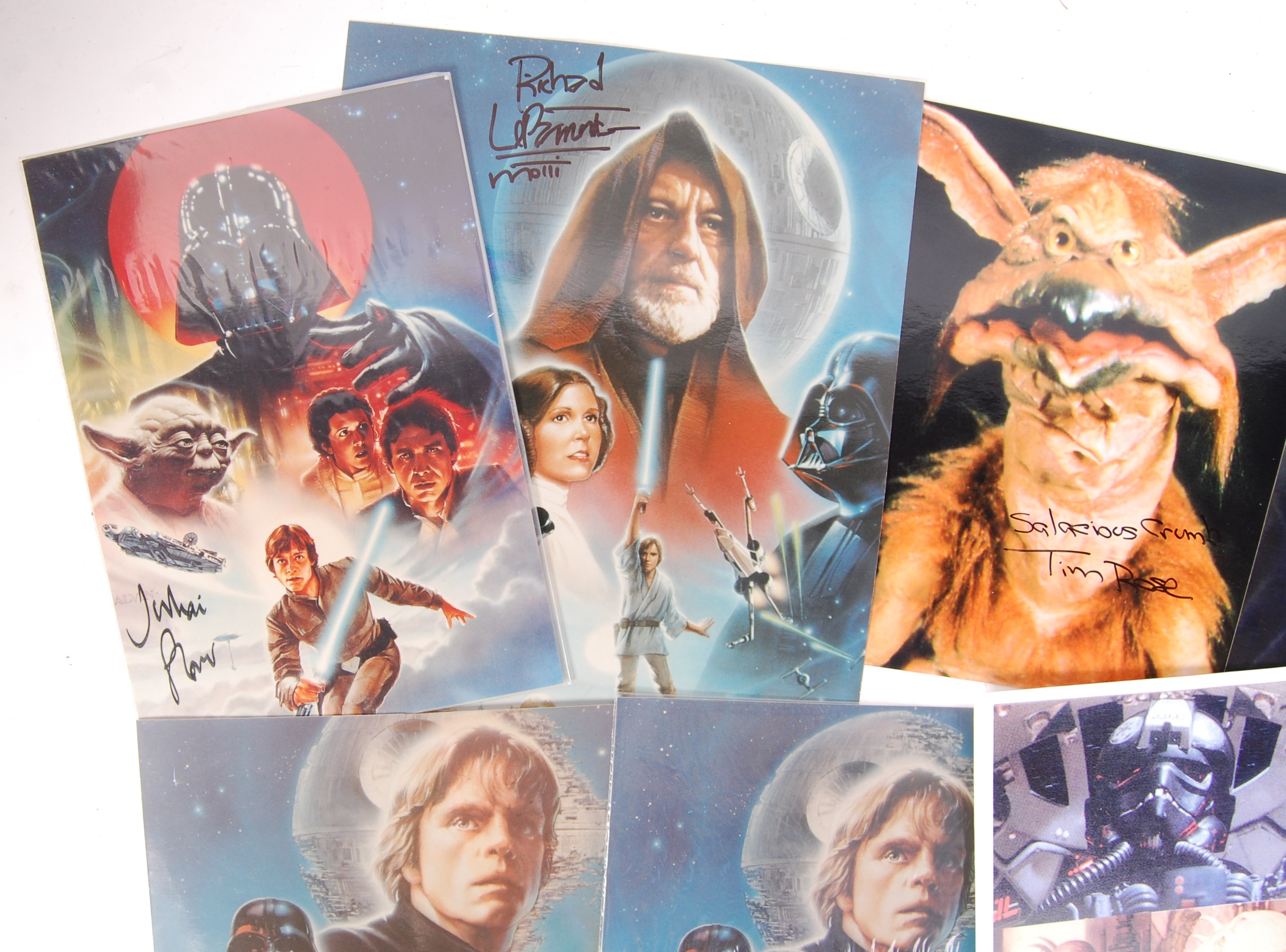 STAR WARS - SELECTION OF AUTOGRAPHED PHOTOGRAPHS - Image 2 of 4