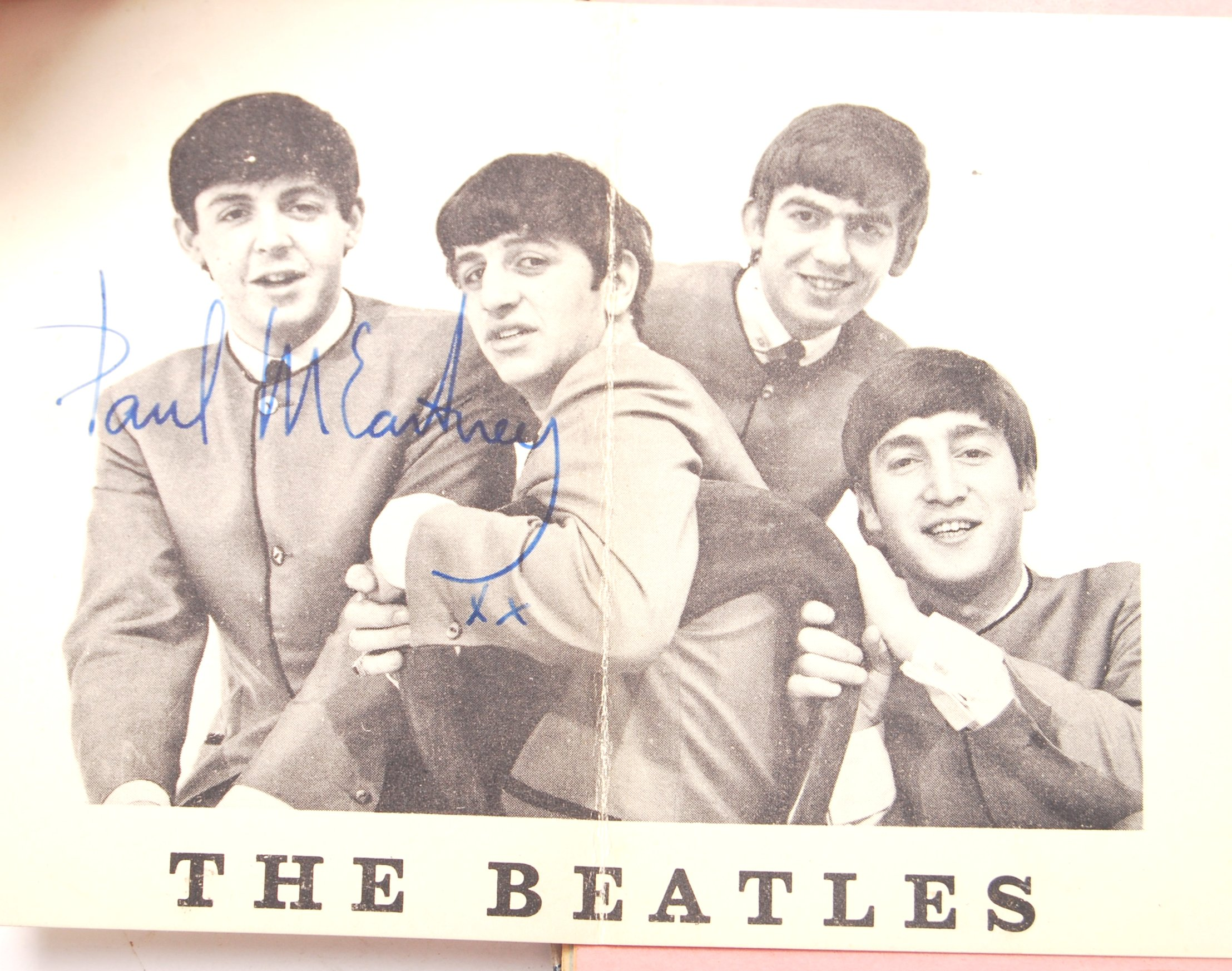 INCREDIBLY RARE PERSONAL BEATLES AUTOGRAPH COLLECT - Image 5 of 12