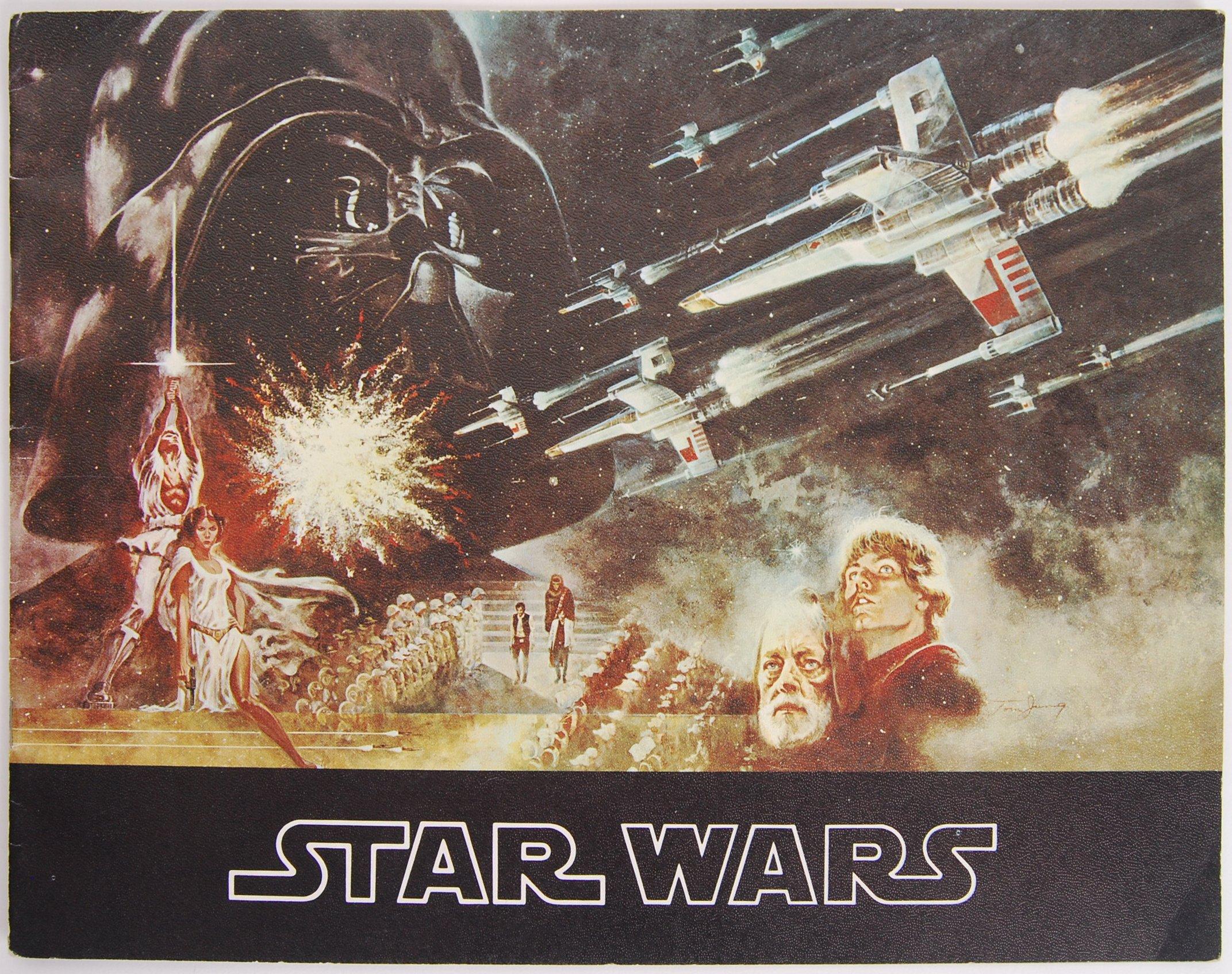 RARE ORIGINAL 1977 STAR WARS UK CINEMA RELEASE BRO
