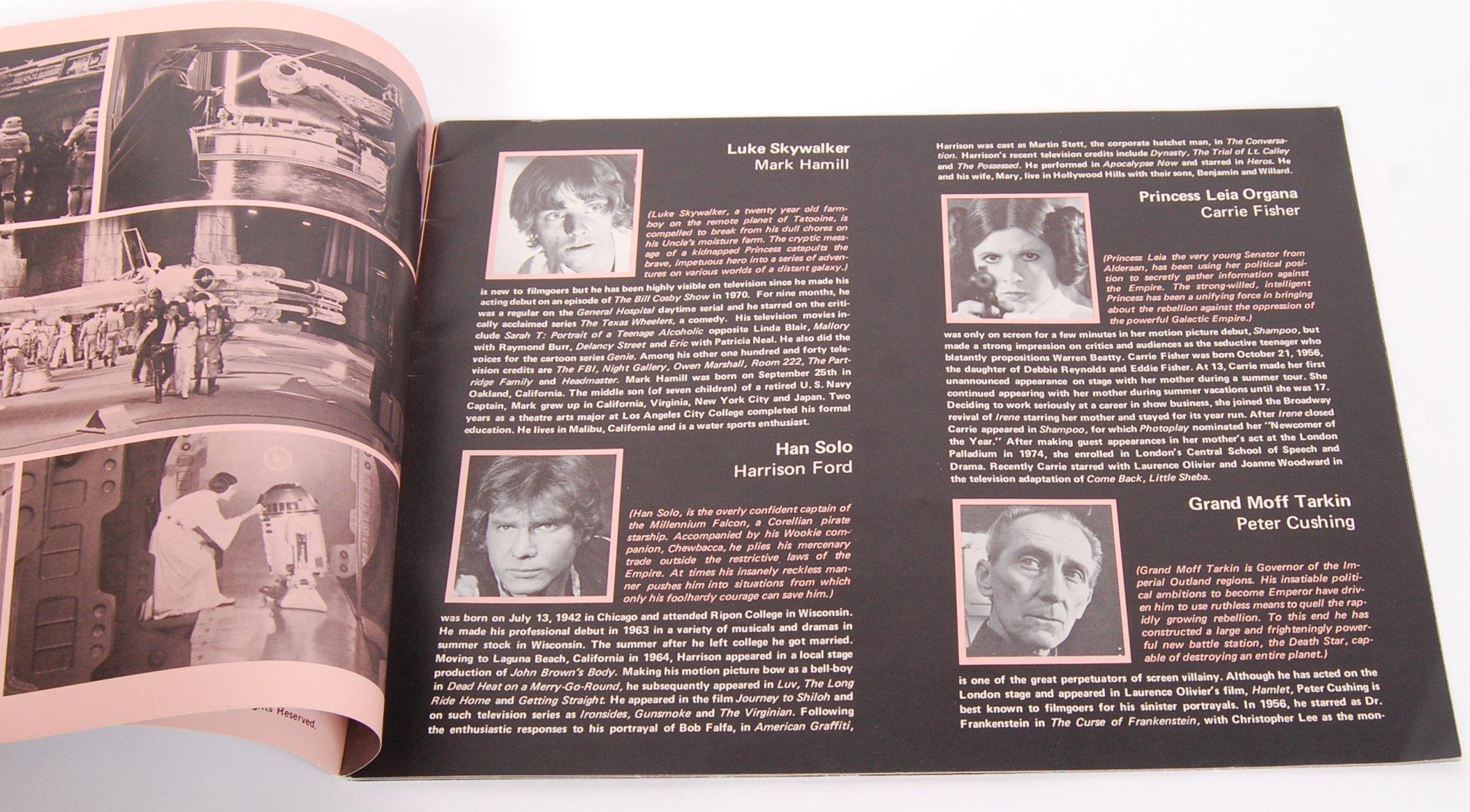 RARE ORIGINAL 1977 STAR WARS UK CINEMA RELEASE BRO - Image 3 of 4
