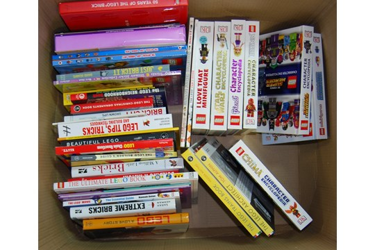 Lot 31 - LARGE COLLECTION OF ASSORTED LEGO BOOKS