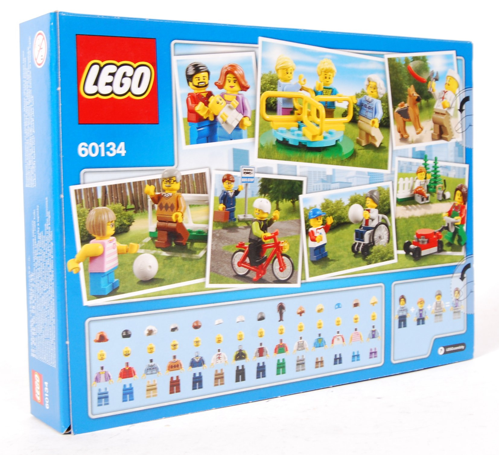 LEGO CITY SET NO. 60134 FUN IN THE PARK - Image 2 of 2