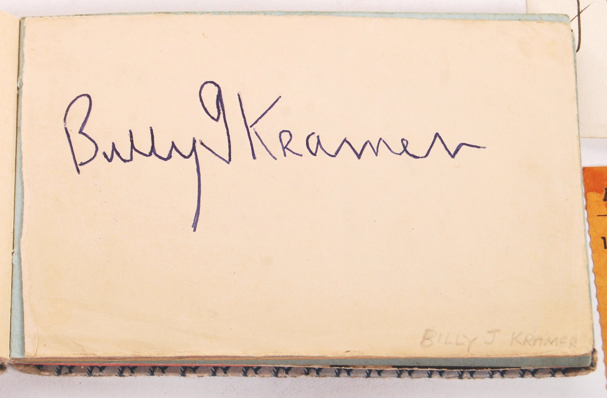 INCREDIBLY RARE PERSONAL BEATLES AUTOGRAPH COLLECT - Image 7 of 12